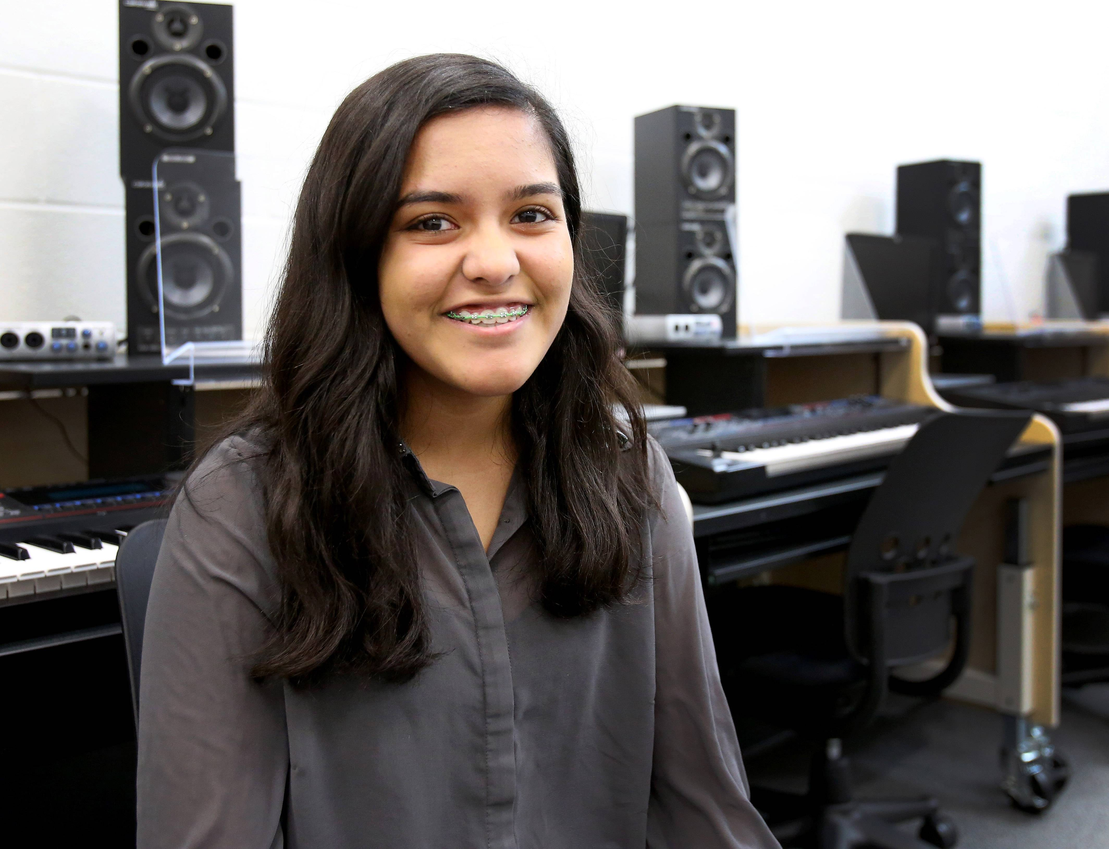 "Sushmitha Suresh, a sophomore at Metea Valley High School in Aurora, now is jokingly known as the ""Super Bowl Singer"" because her voice was featured singing part of ""America the Beautiful"" in Hindi for a Coca-Cola commercial shown during the big game."