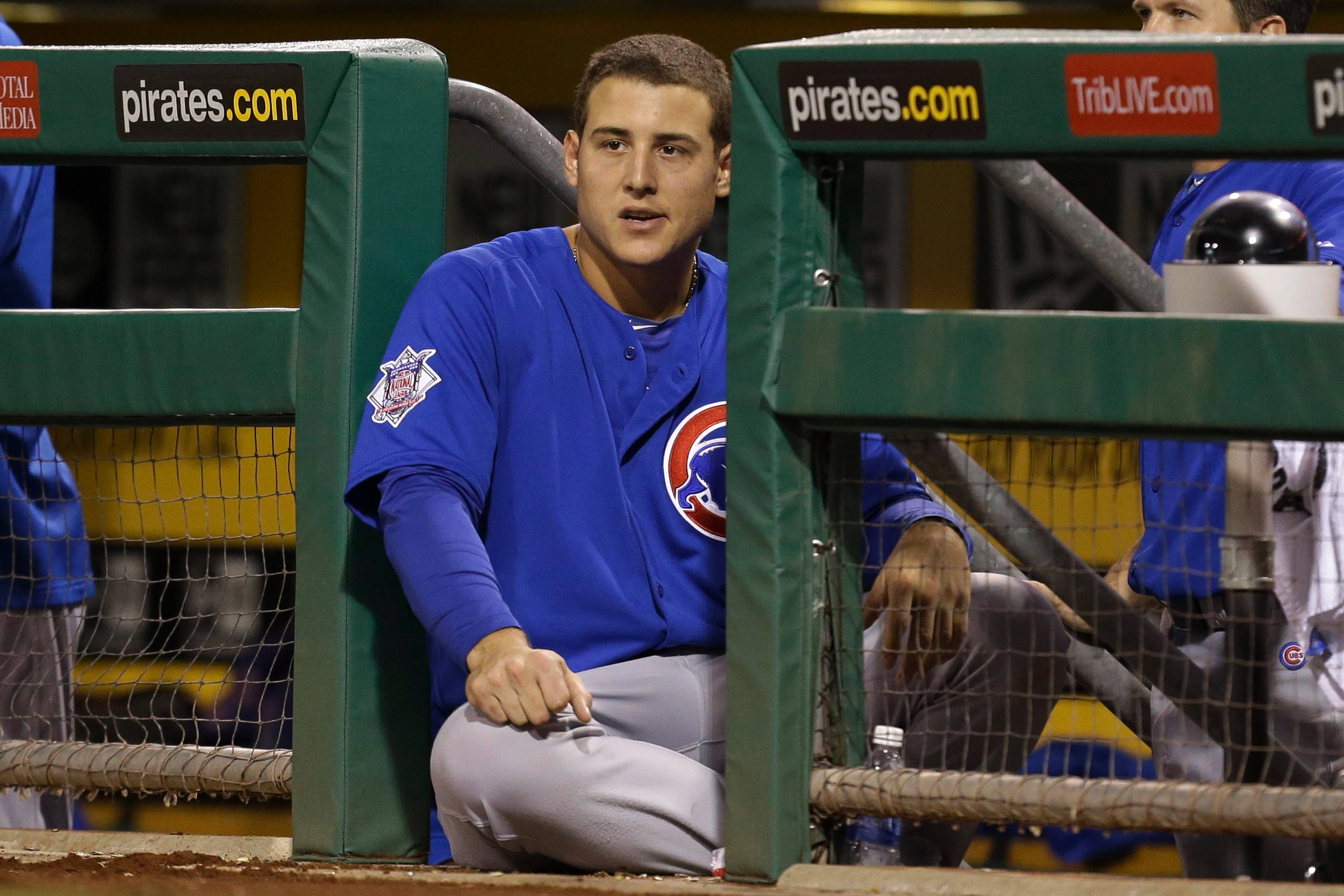 "Cubs first baseman Anthony Rizzo says he wants to be ""the guy coming up in the big situation."""
