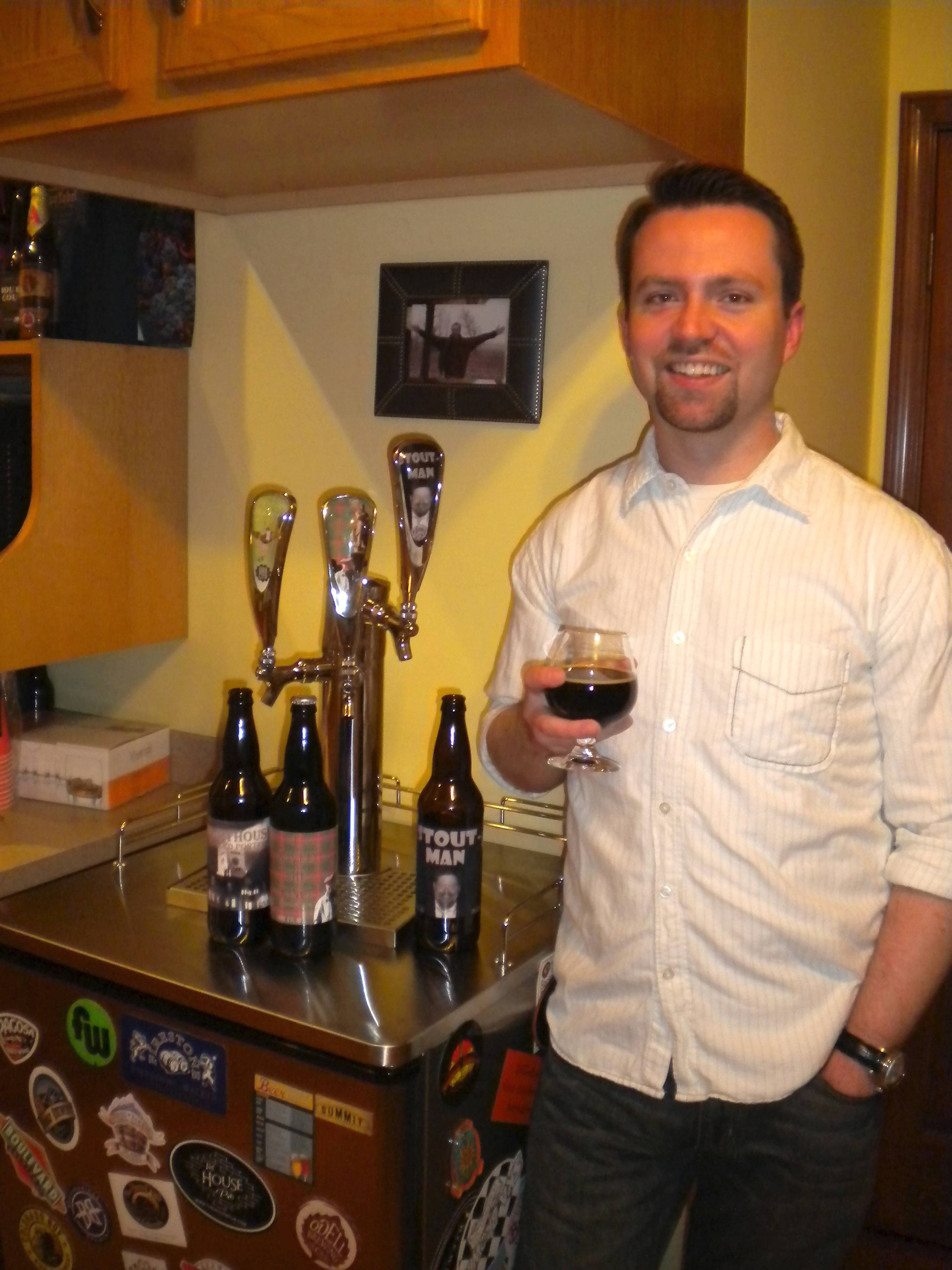 Ben Sampson hopes to open a brewery this summer in downtown Wheaton called Dry City Brew Works.