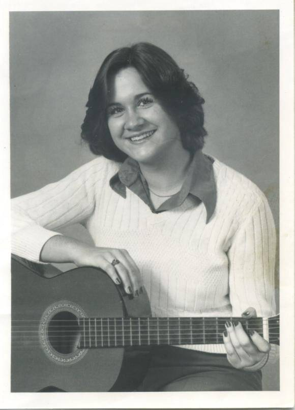 Karen Page, seen here in the late 1970s, graduated at the top of her class from St. Charles High School.