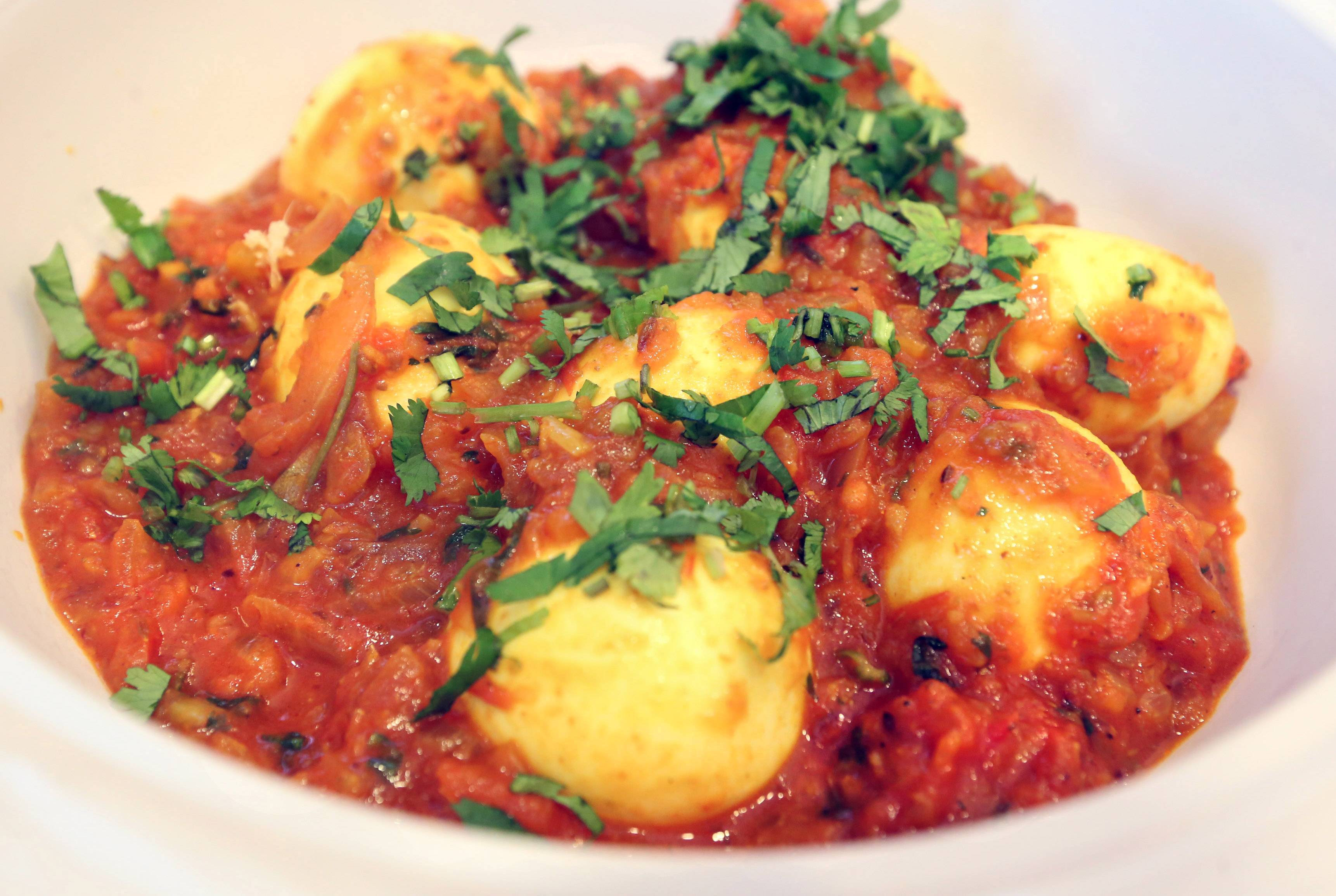 Cook of the Week Sushma Bhanot's egg curry.
