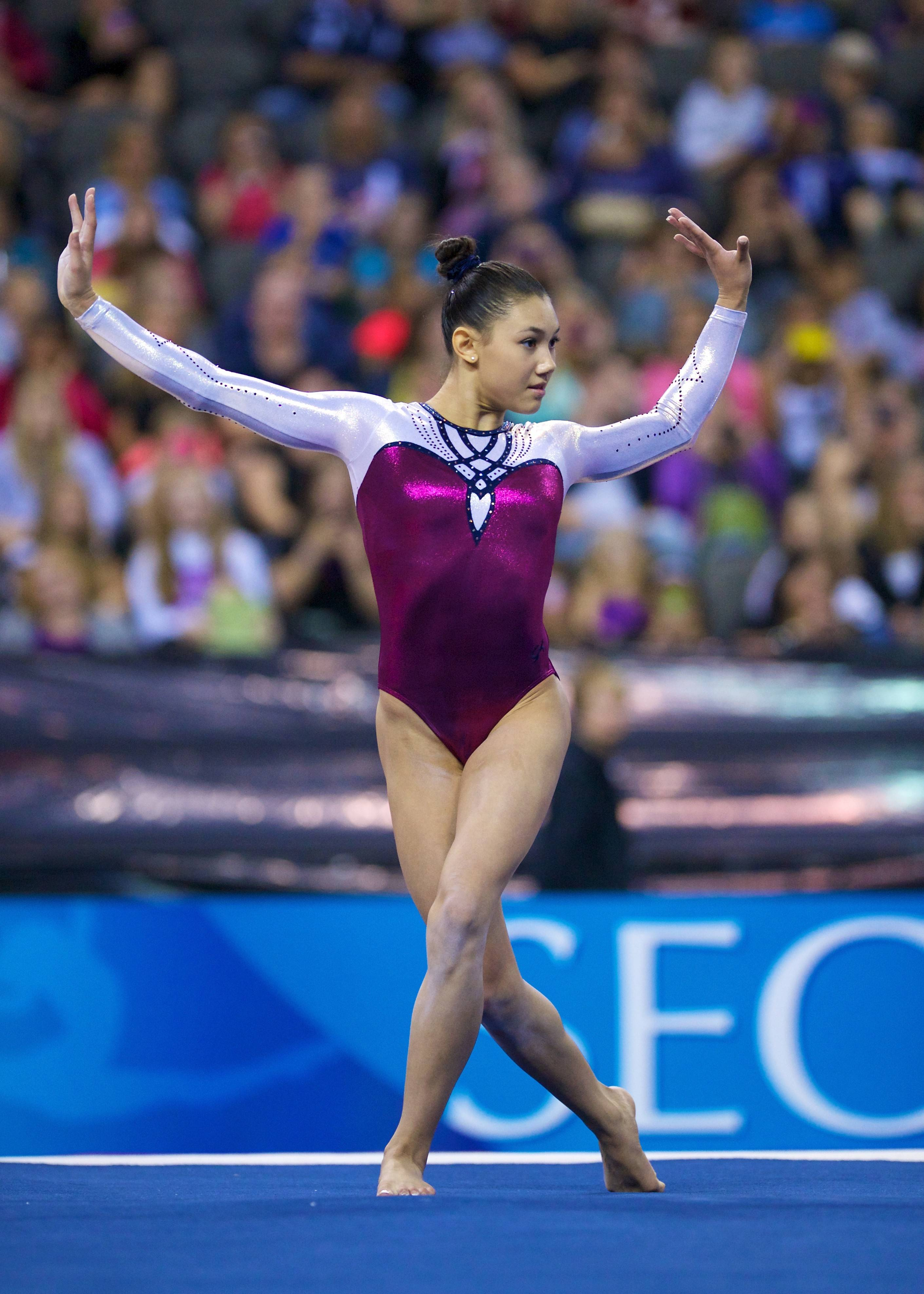 Olympian Kyla Ross won the 2013 Secret U.S. Classic at the Sears Centre Arena in Hoffman Estates last summer. The event will return to the suburbs this summer, with world-class gymnasts again expected to compete.
