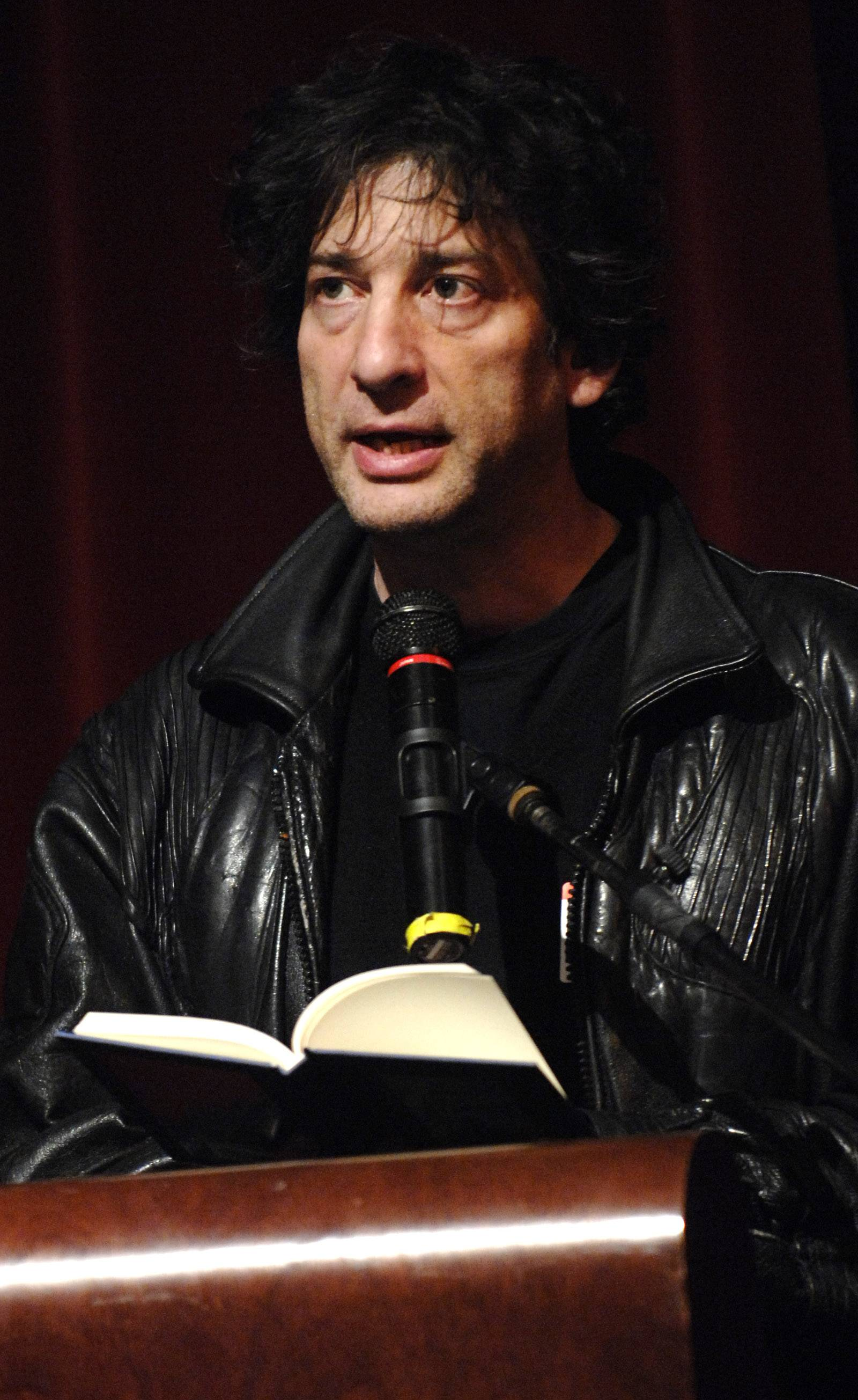 Author Neil Gaiman spent five days here as part of the 2010 Naperville READS program.