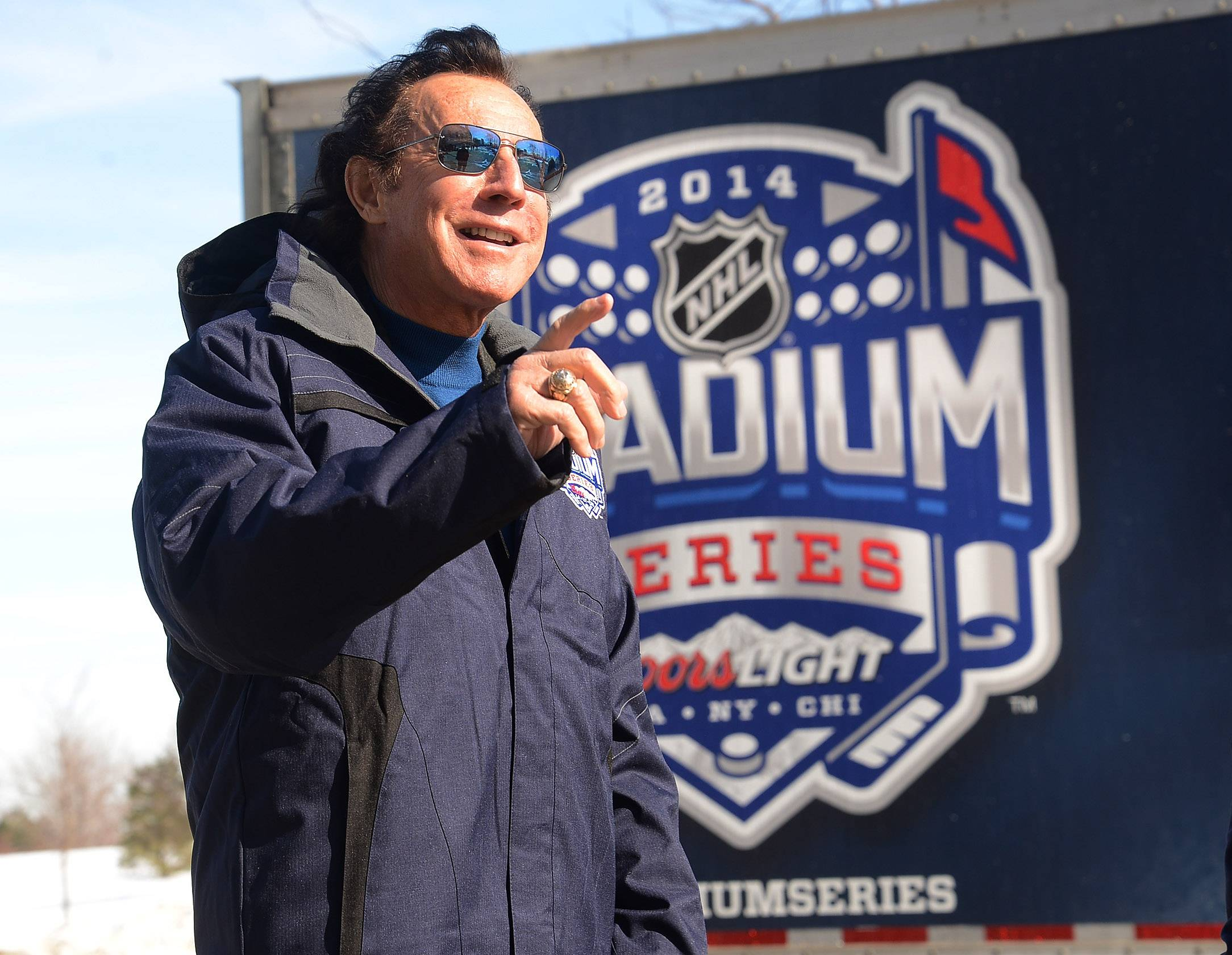 Blackhawks Hall of Fame goal Tony Esposito has fond memories of playing outdoors games while growing up in Sault Ste. Marie, Ontario.