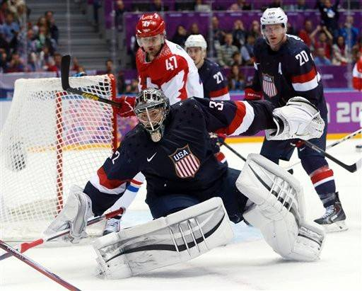 Goaltender Jonathan Quick will start for Team USA Wednesday in the finals of the Sochi Games.
