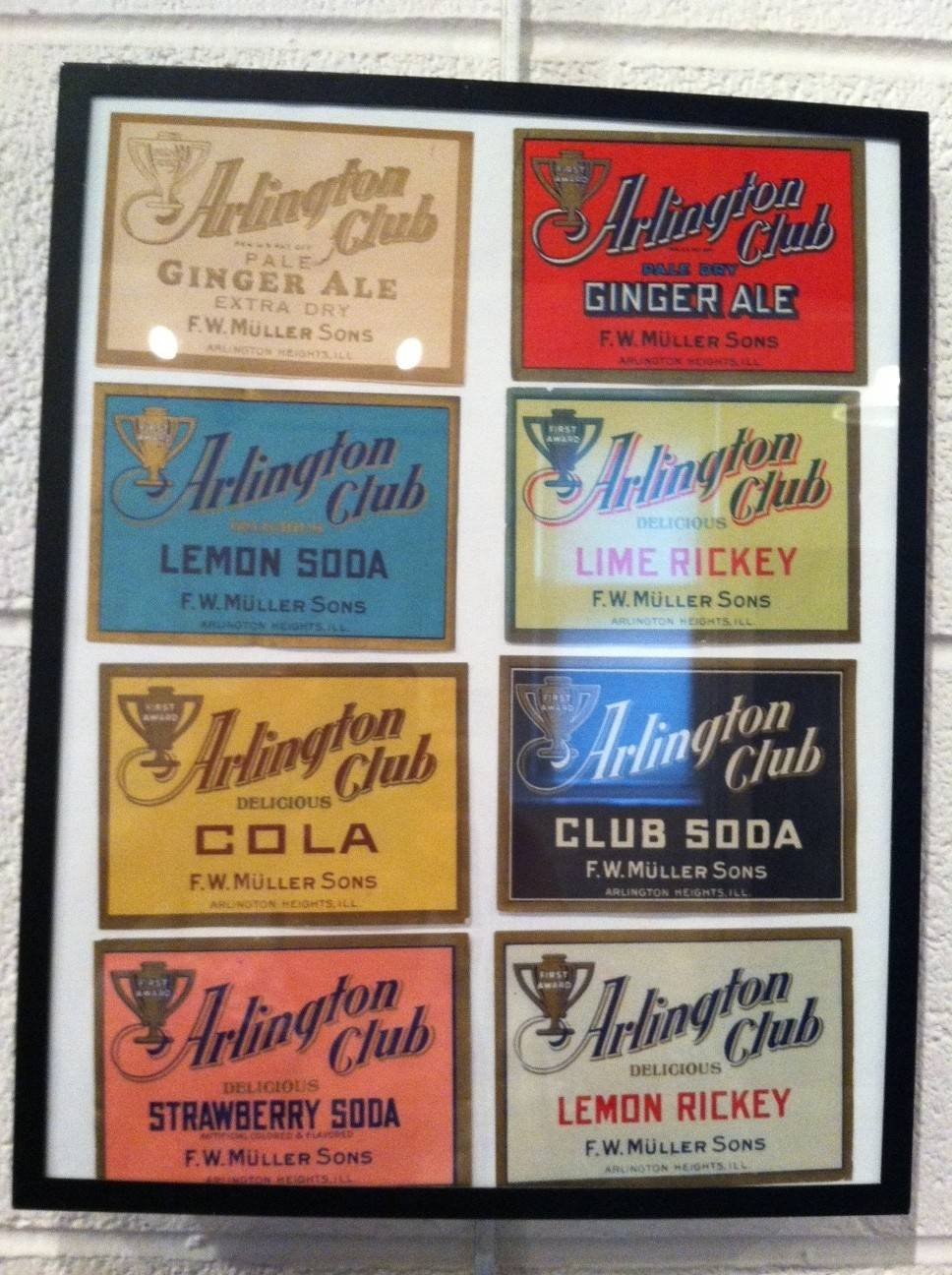 No holiday or party was complete without a selection of Arlington Club soda. Many Arlington Heights residents still remember making that trip to the soda pop factory to stock up on their favorite flavors.