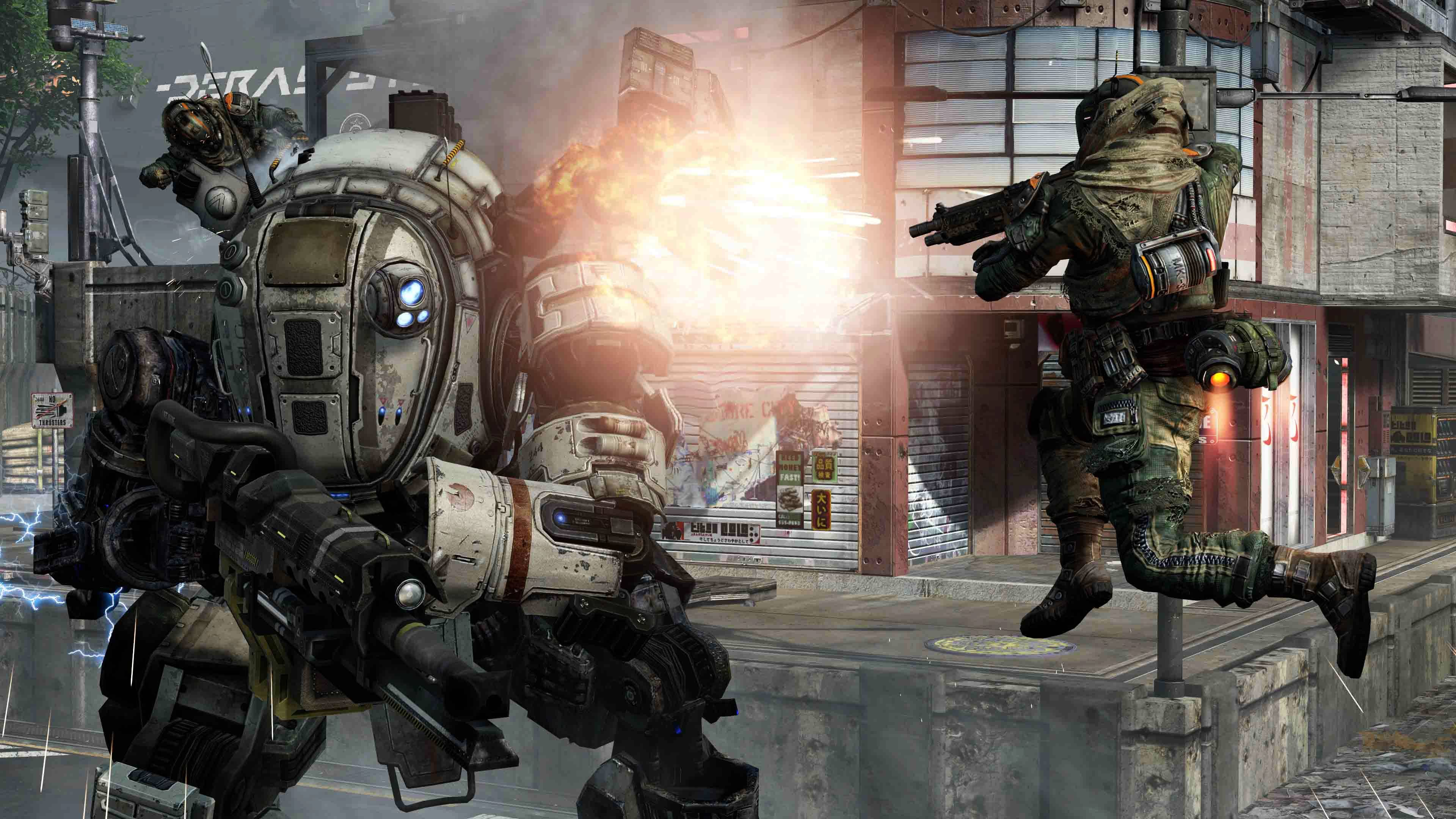 """Titanfall,"" set for release March 11 on Xbox One and PC and March 25 on Xbox 360, is aiming to shake things up with a mix of new gameplay elements."