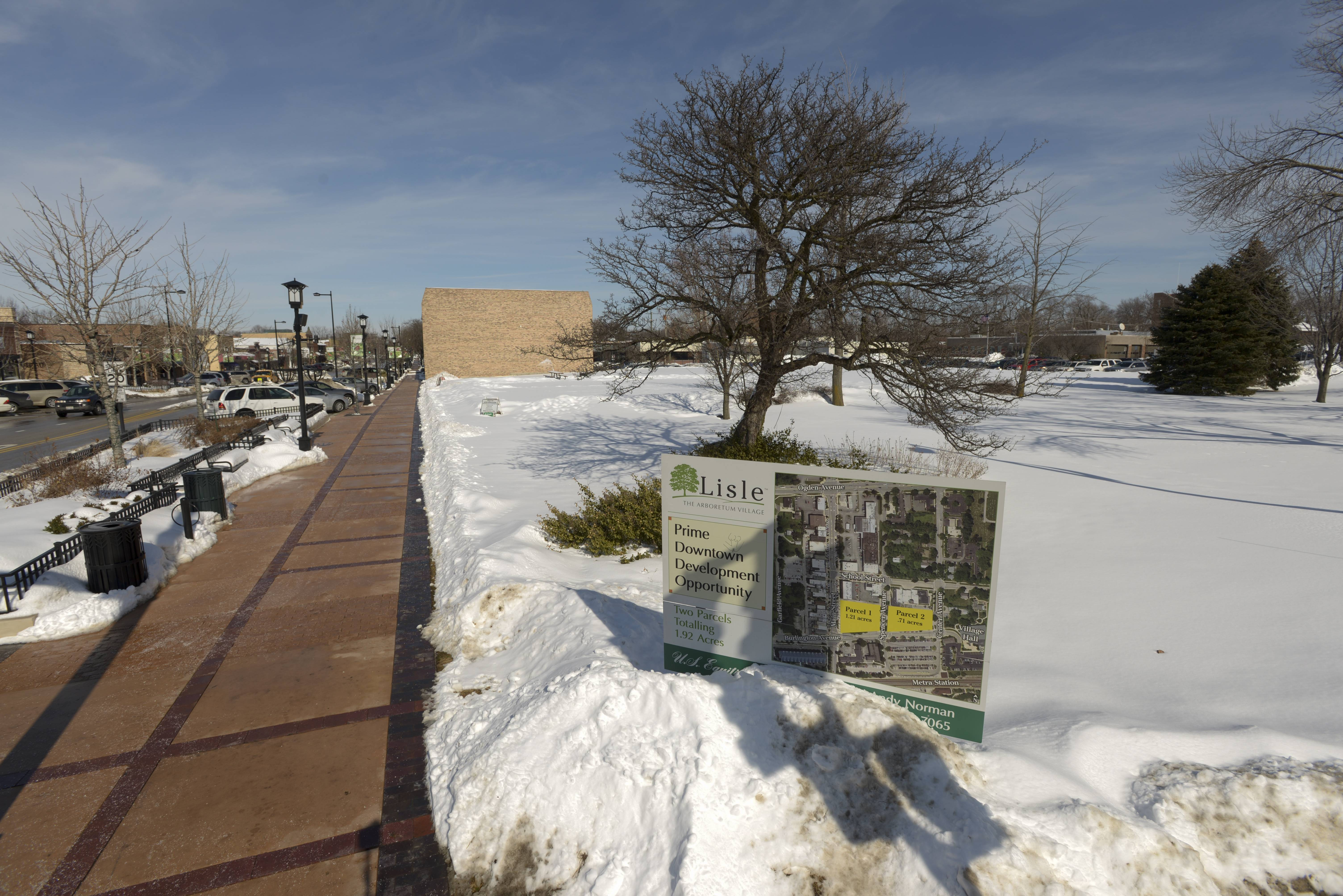 Developer has plans for vacant downtown Lisle site