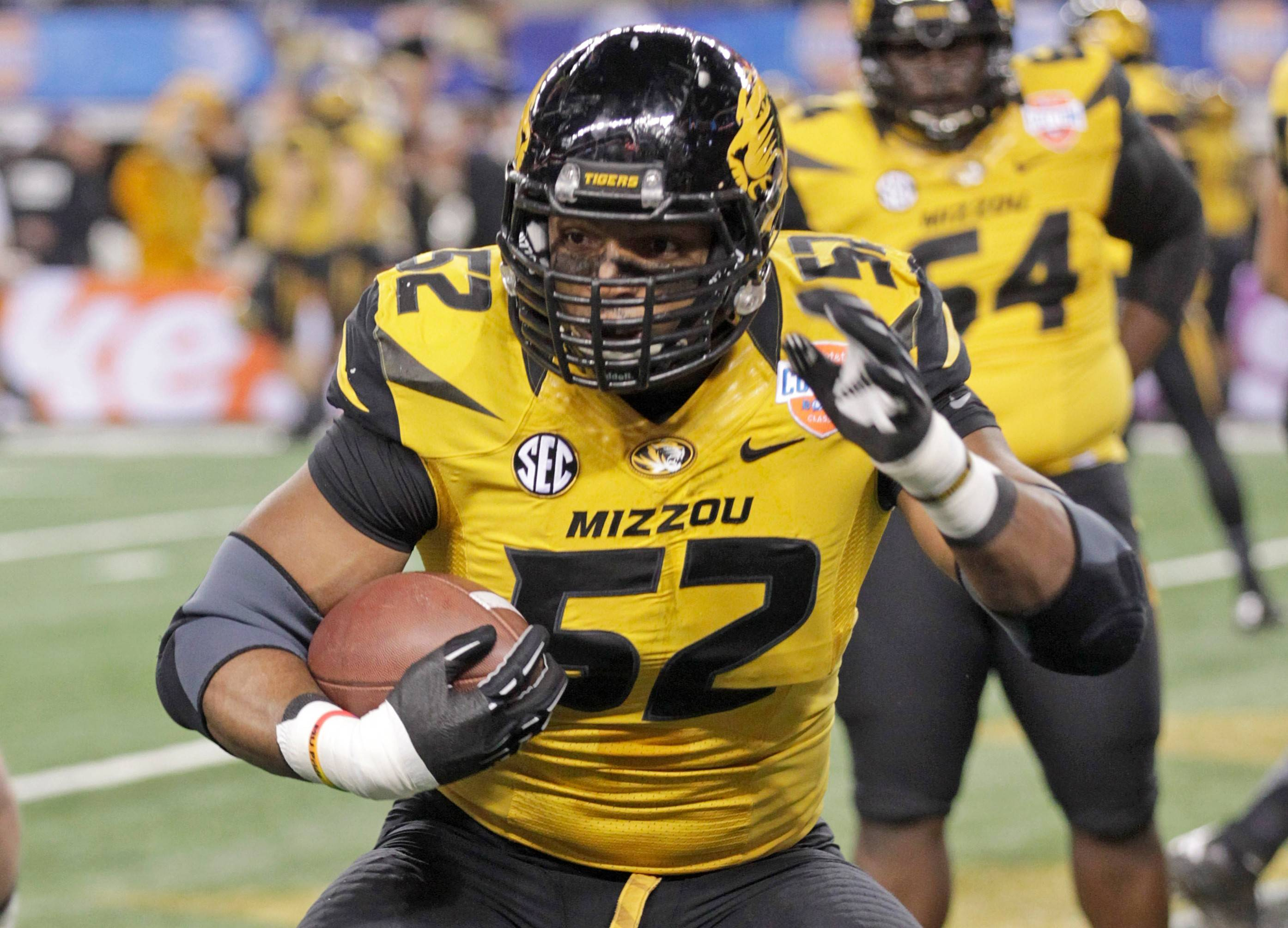 Michael Sam gets a chance to show he belongs on an NFL roster when he participates in the scouting combine in Indianapolis this week.