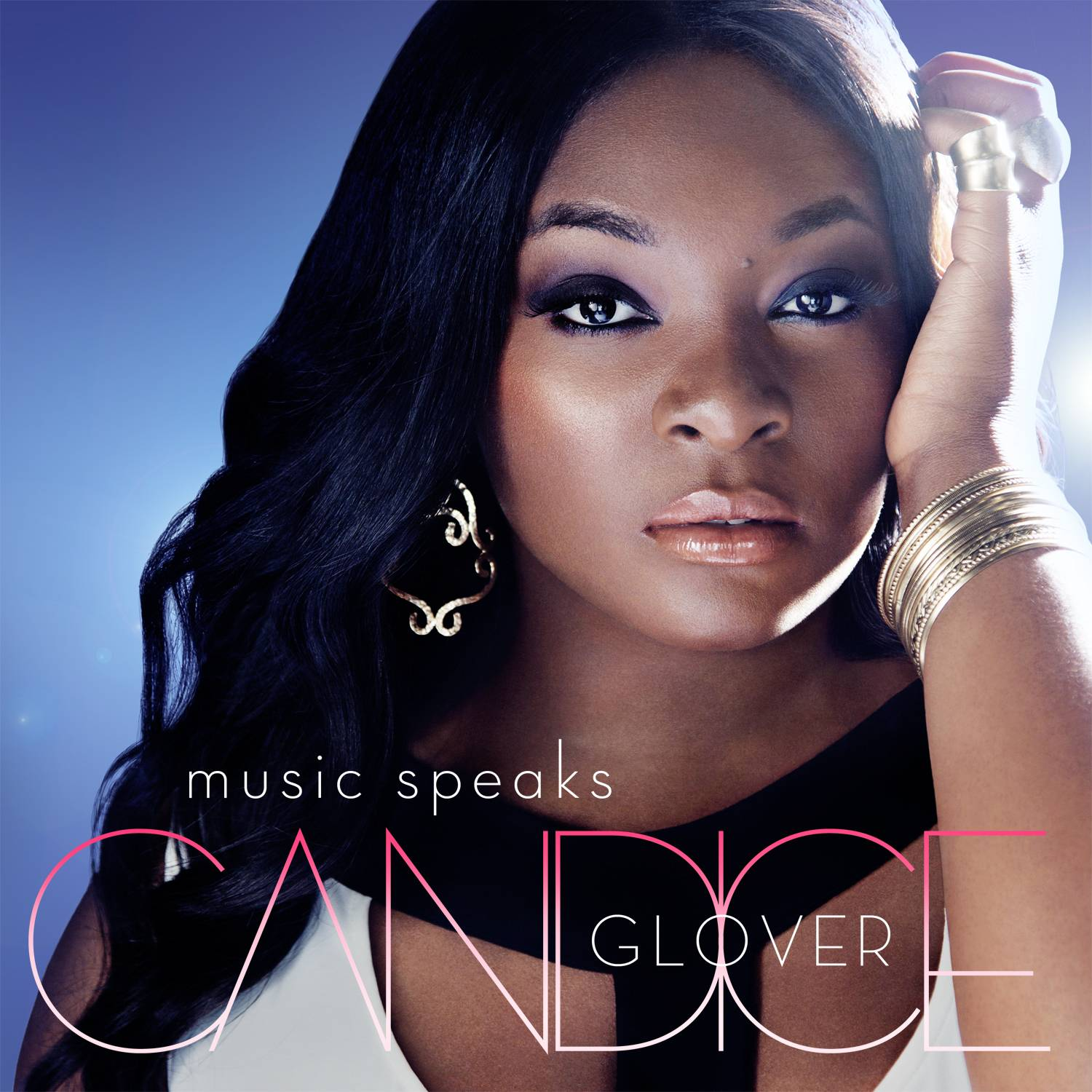 """Music Speaks"" is the debut album from ""American Idol"" winner Candice Glover."
