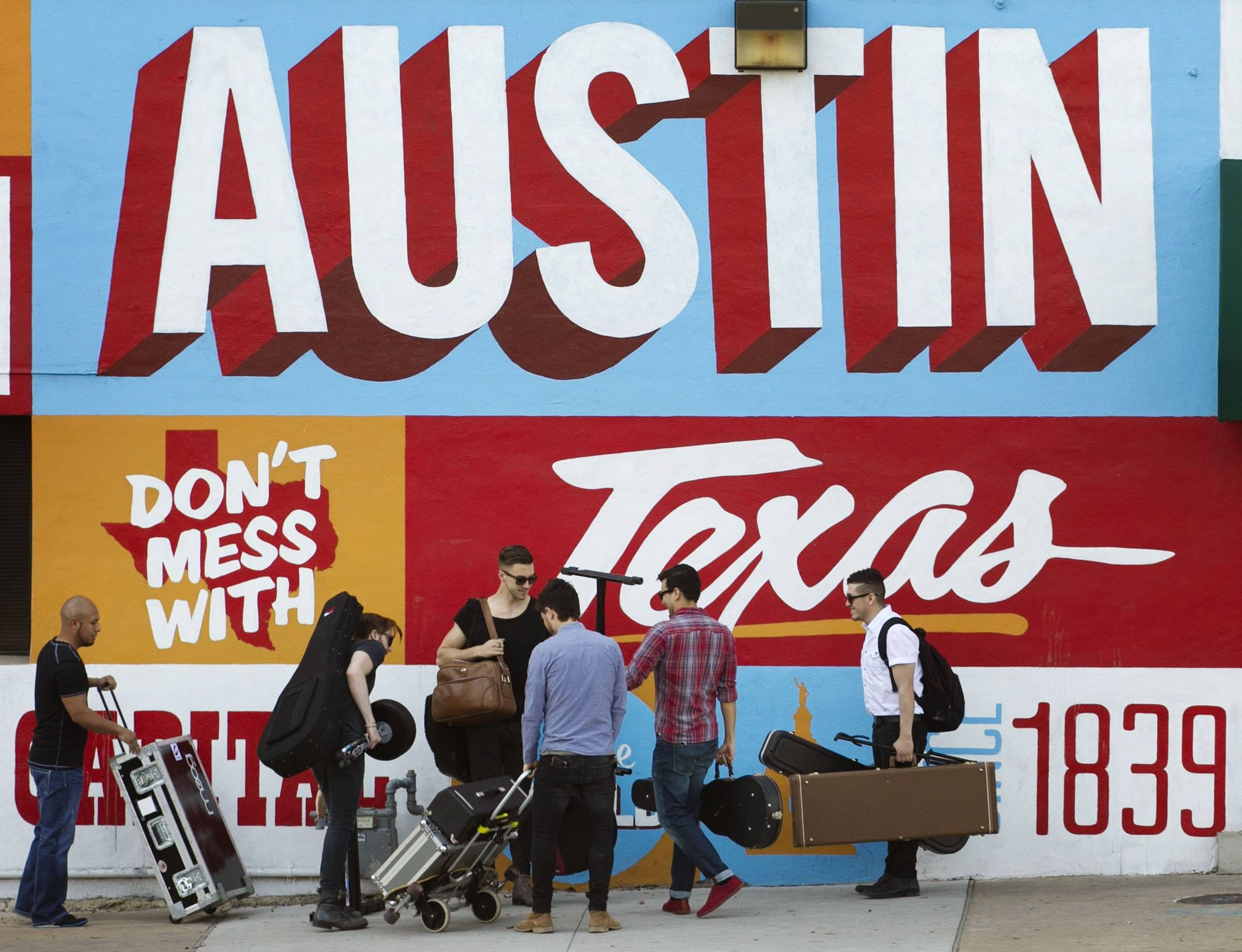 iTunes is putting its stamp on South by Southwest, piggybacking on the annual event hosted by the city of Austin, Texas, with its own music festival.