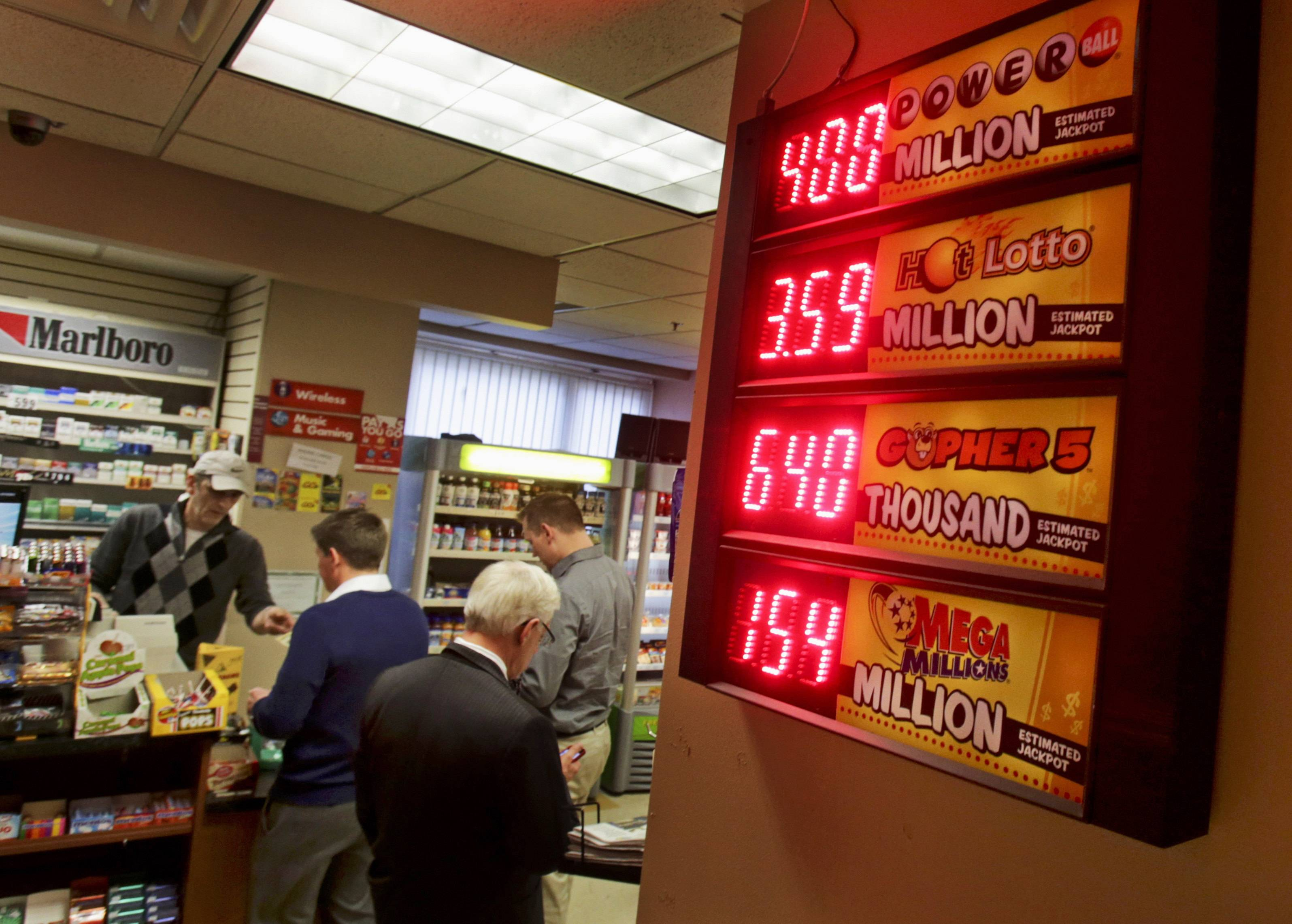 Wednesday's Powerball drawing carries an estimated $400 million jackpot. If no one matches all the numbers, the prize potential will grow before the next drawing on Saturday.