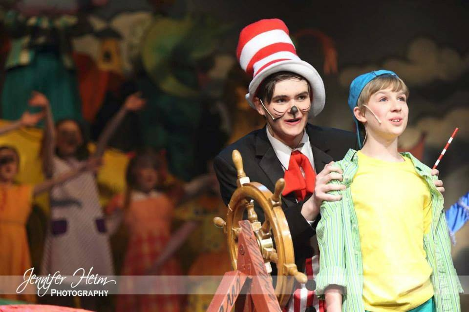 "Kyle Hass and Matthew Newell will perform over the next two weekends in ""Seussical the Musical Jr."" presented in Naperville by DuPage Spotlight Youth Theater."