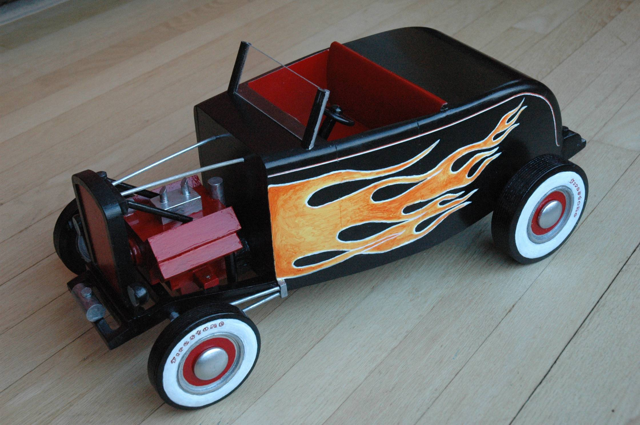 1932 Ford Roadster Cremation Urn by Steve Shannon