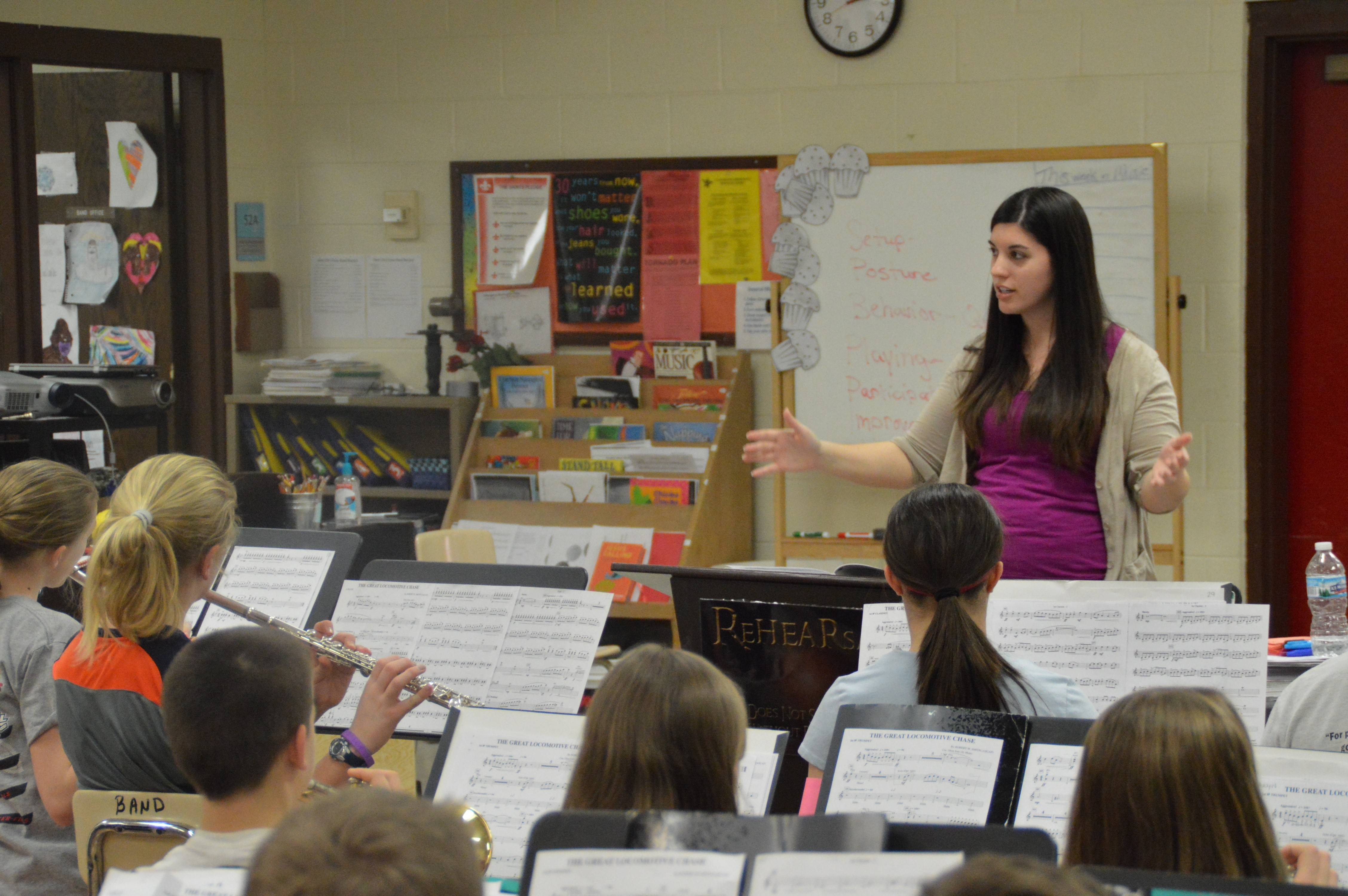 Rachel Hartmann serves as music teacher and fine arts director at St. Peter Lutheran School in Arlington Heights. She is the recipient of the Lutheran Education Association's 2014 Outstanding New Lutheran Elementary Teacher Award.