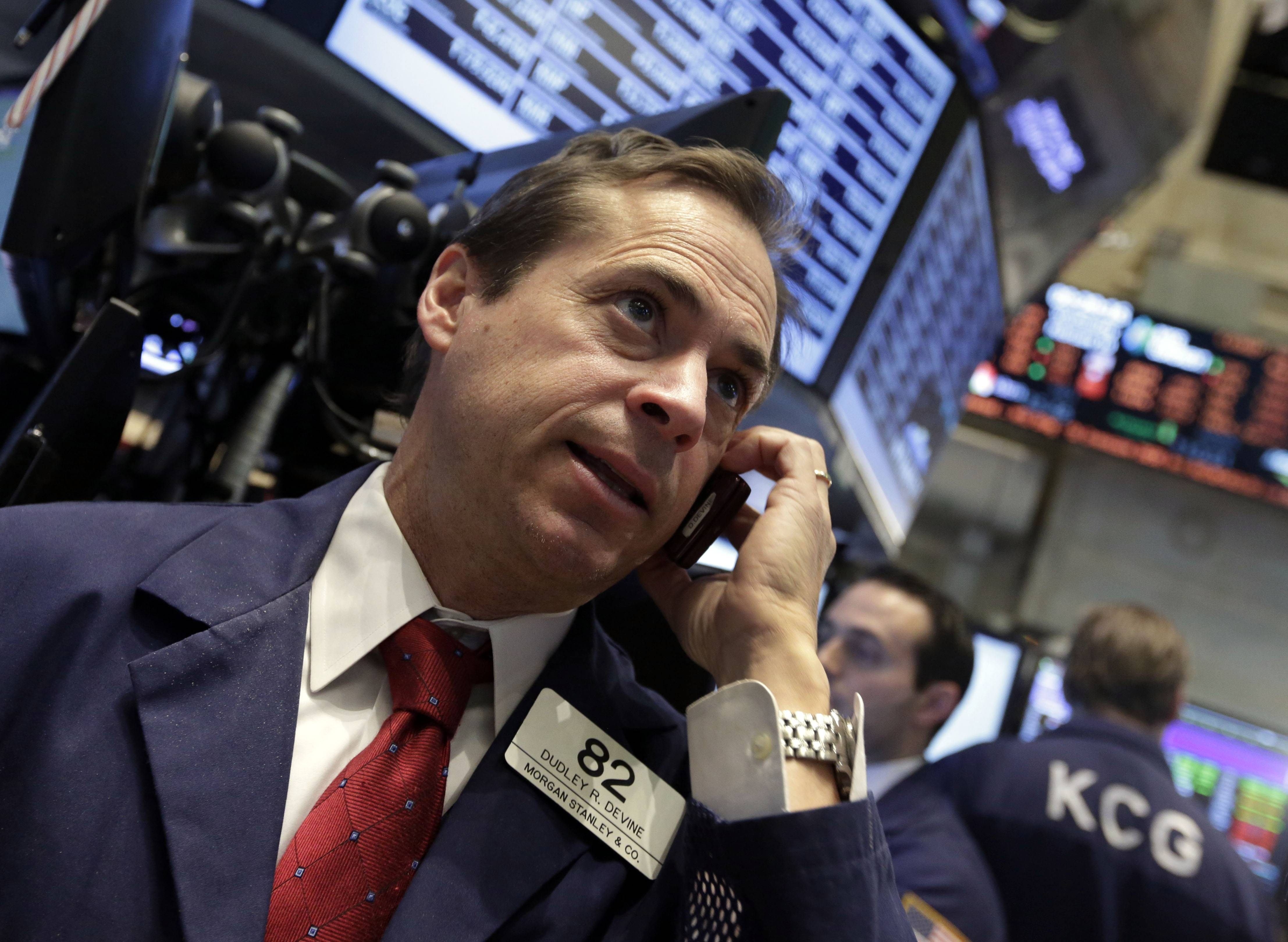 Stocks rose Thursday, erasing most of yesterday's drop, as improving manufacturing data tempered concern about the economy and Facebook's $19 billion purchase of a messaging startup fueled optimism about deals.
