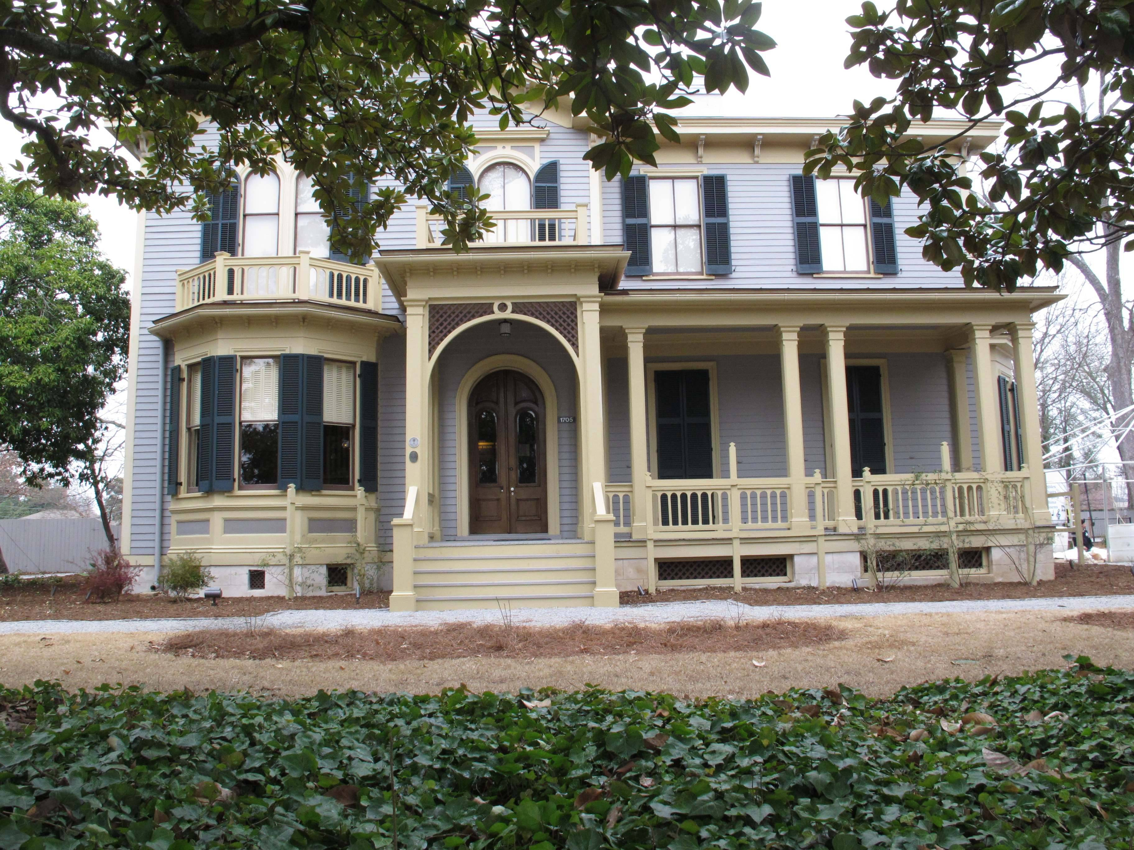 Historic Columbia helped renovate the home where President Woodrow Wilson lived when he was a teen. It is now open to the public as a museum.