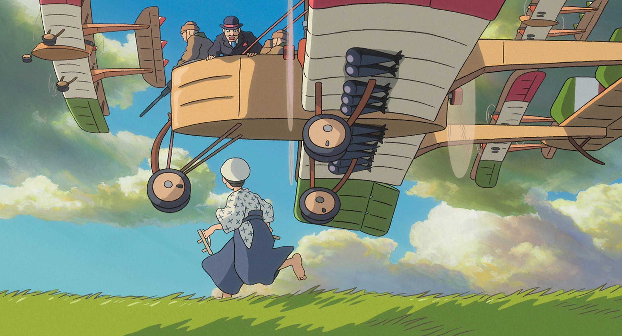 "Legendary Japanese animator Hayao Miyazaki uses ""The Wind Rises"" to pay tribute to aviation engineer Jiro Horikoshi, a designer of the Zero fighter plane."