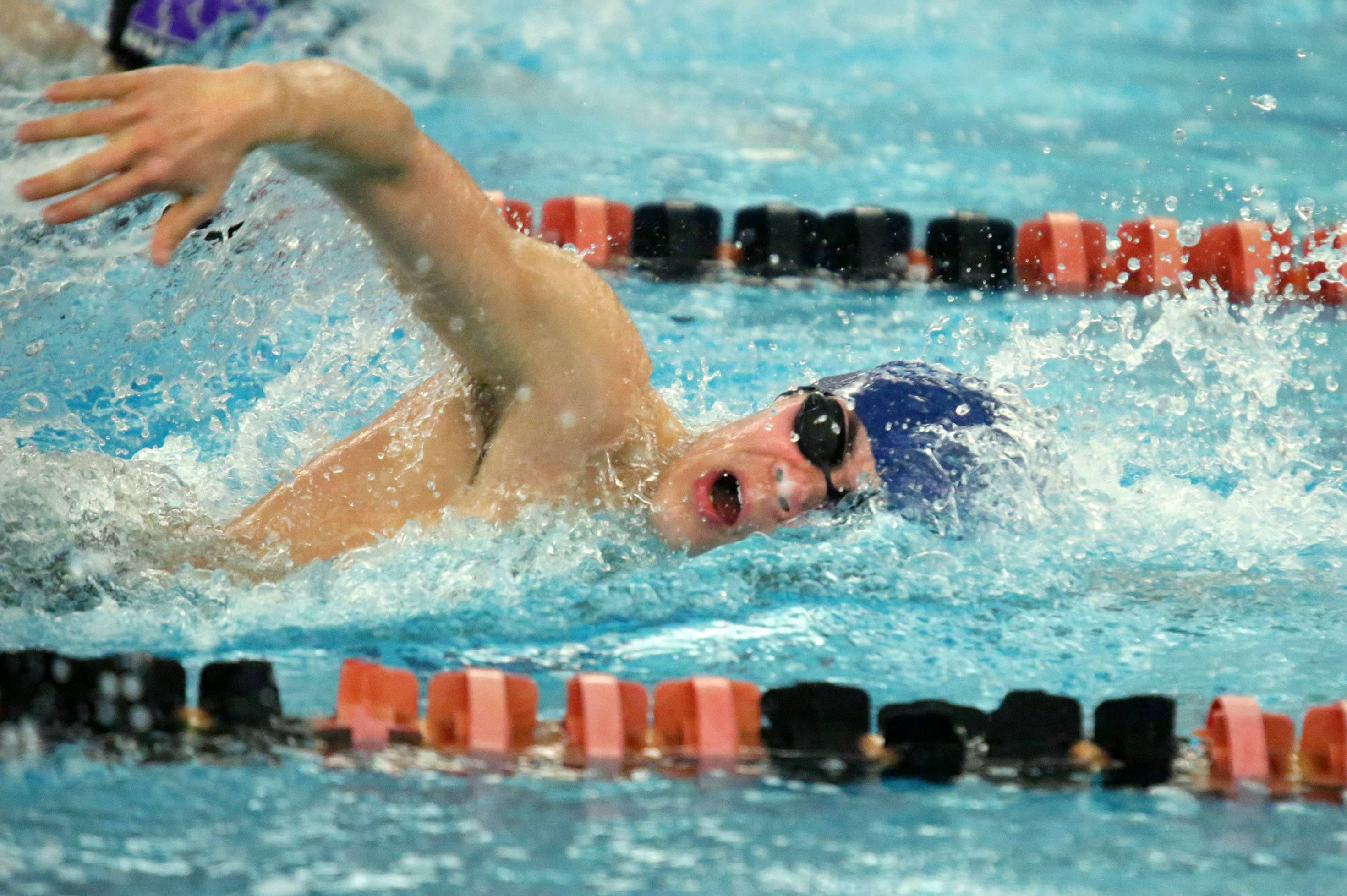 Michael Morikado is part of a Prospect team with multiple chances to qualify for the state meet in Saturday's sectional meet at Glenbrook North.