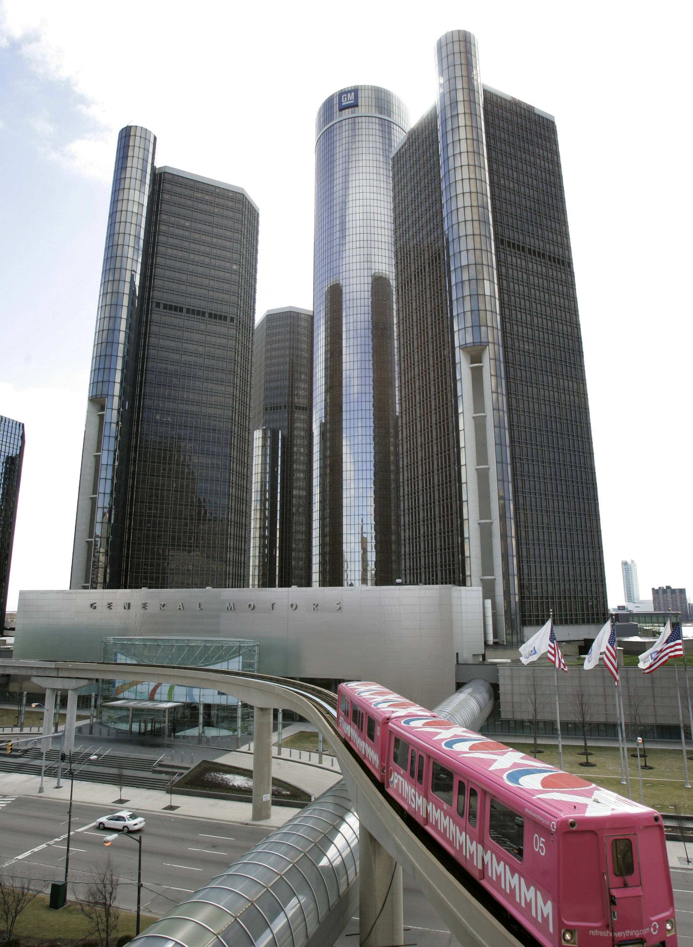 General Motors' world headquarters in Detroit. GM's 2009 government-funded bankruptcy allowed it to emerge a new, leaner company that has since racked up more than $20 billion in profits and added jobs in Detroit. For the city, the comeback will be much harder.