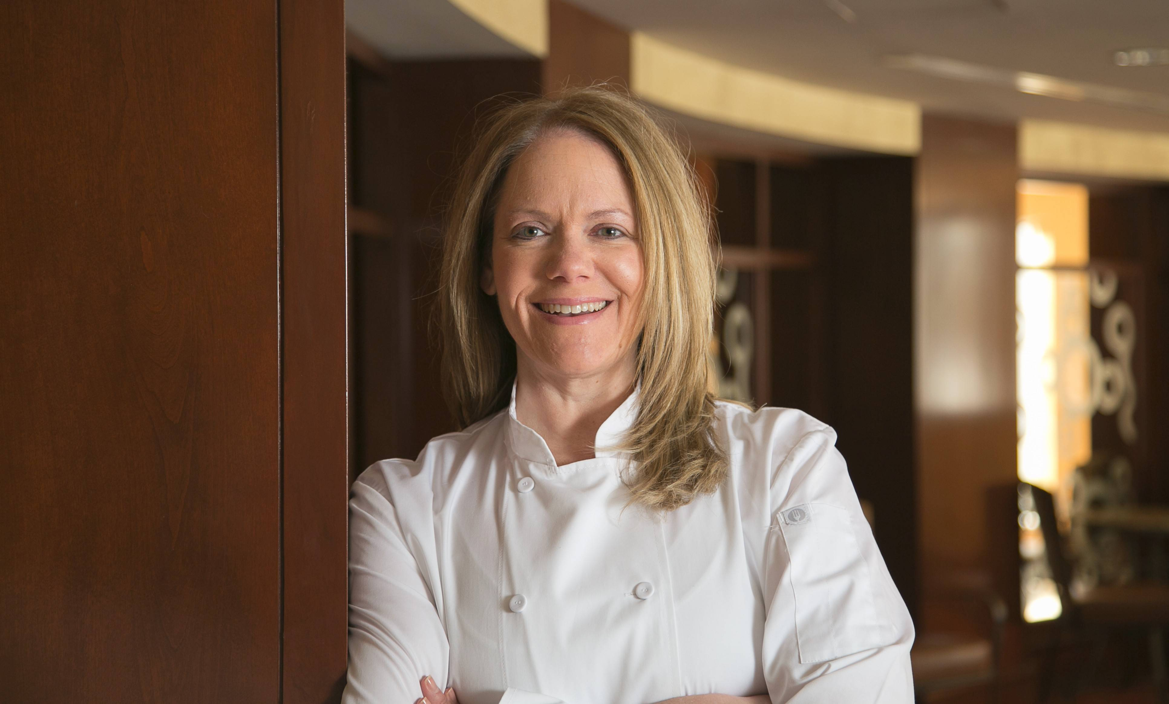 Chef Carol Buckantz recently took over at the Oak Brook Hills Resort.