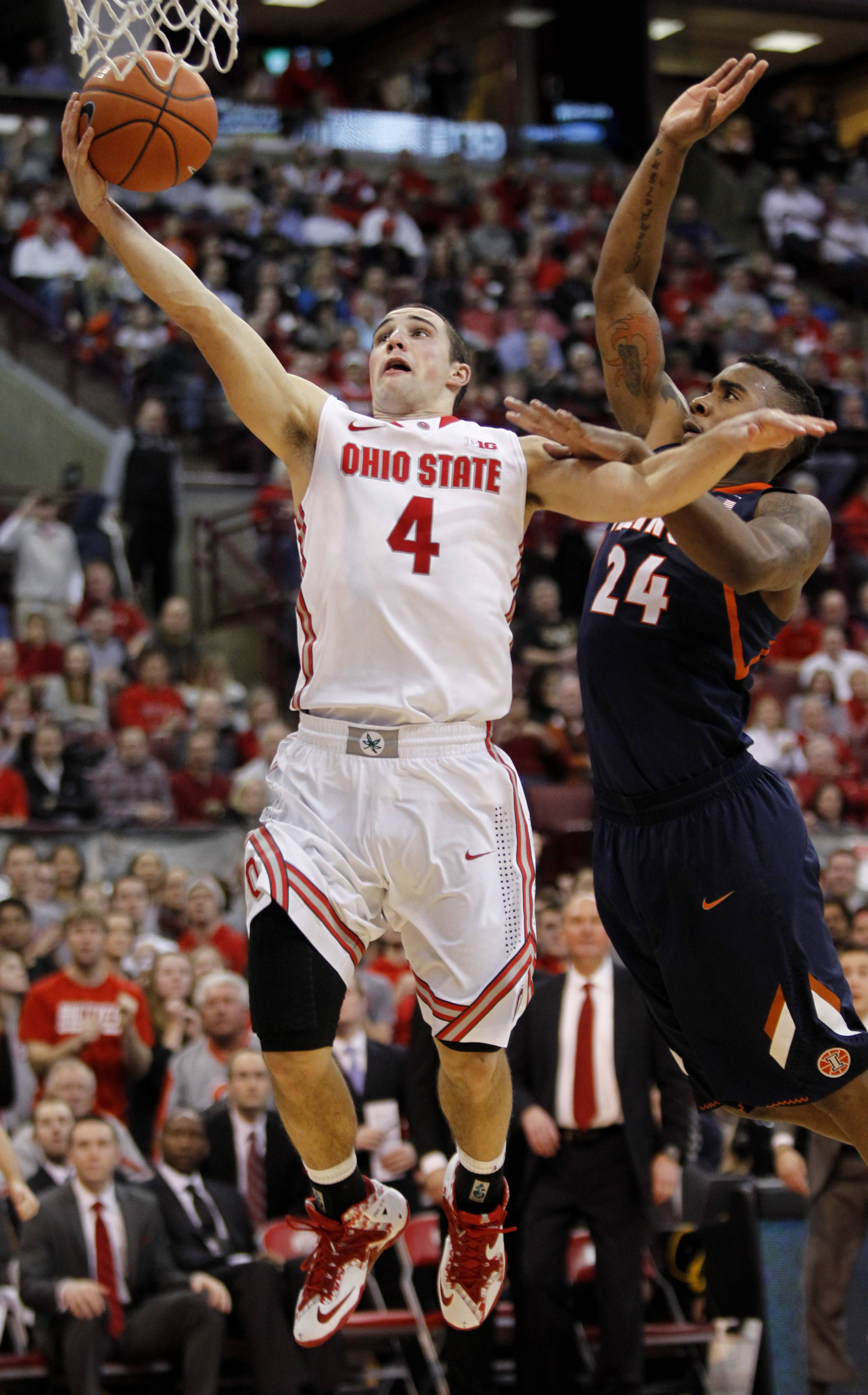 Aaron Craft and the rest of the Ohio State Buckeyes have righted themselves from an awful 1-5 span in January and have now turned that around by going 5-1.