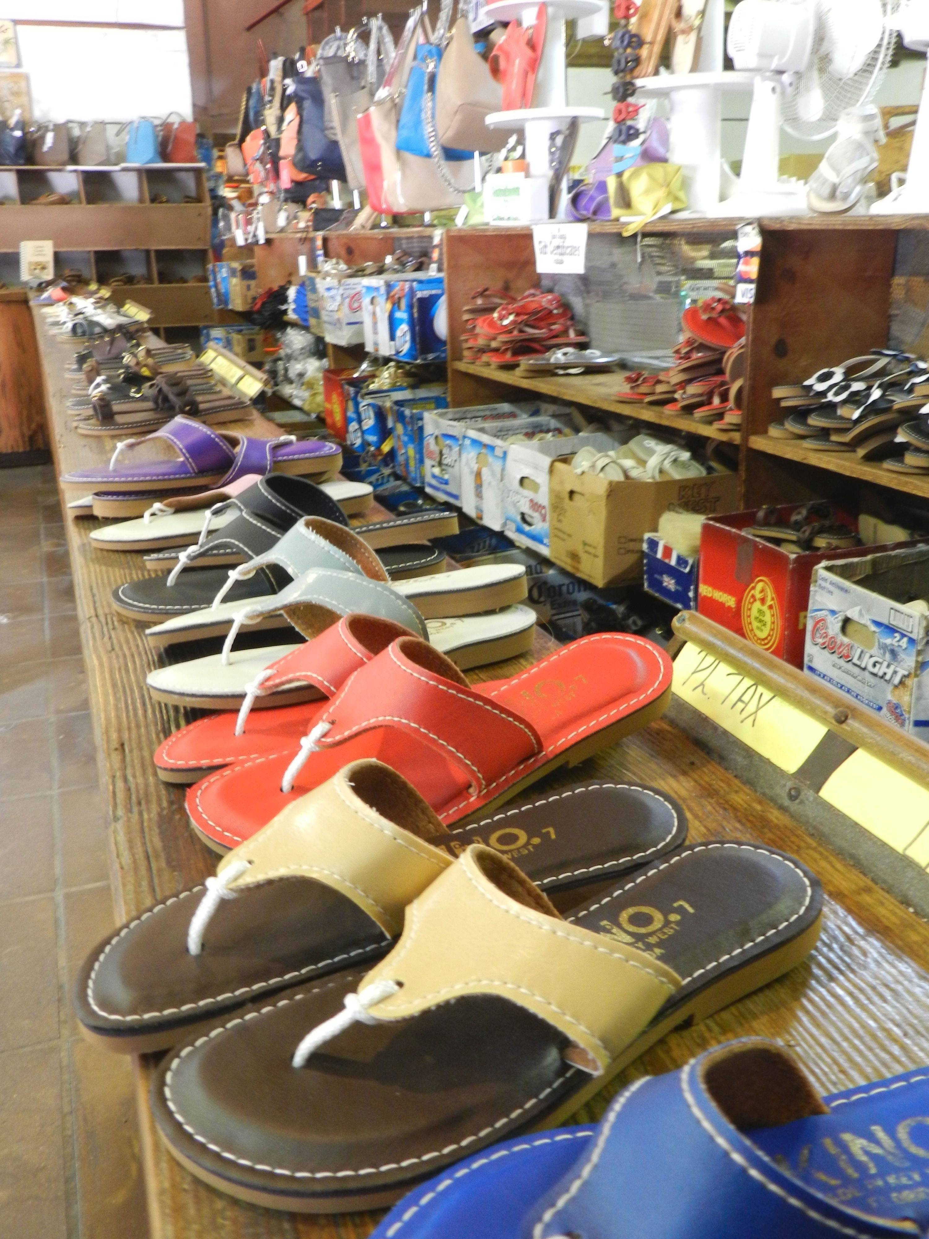 Key West's Kino Sandal Factory offers quality leather sandals and memories to take back home.