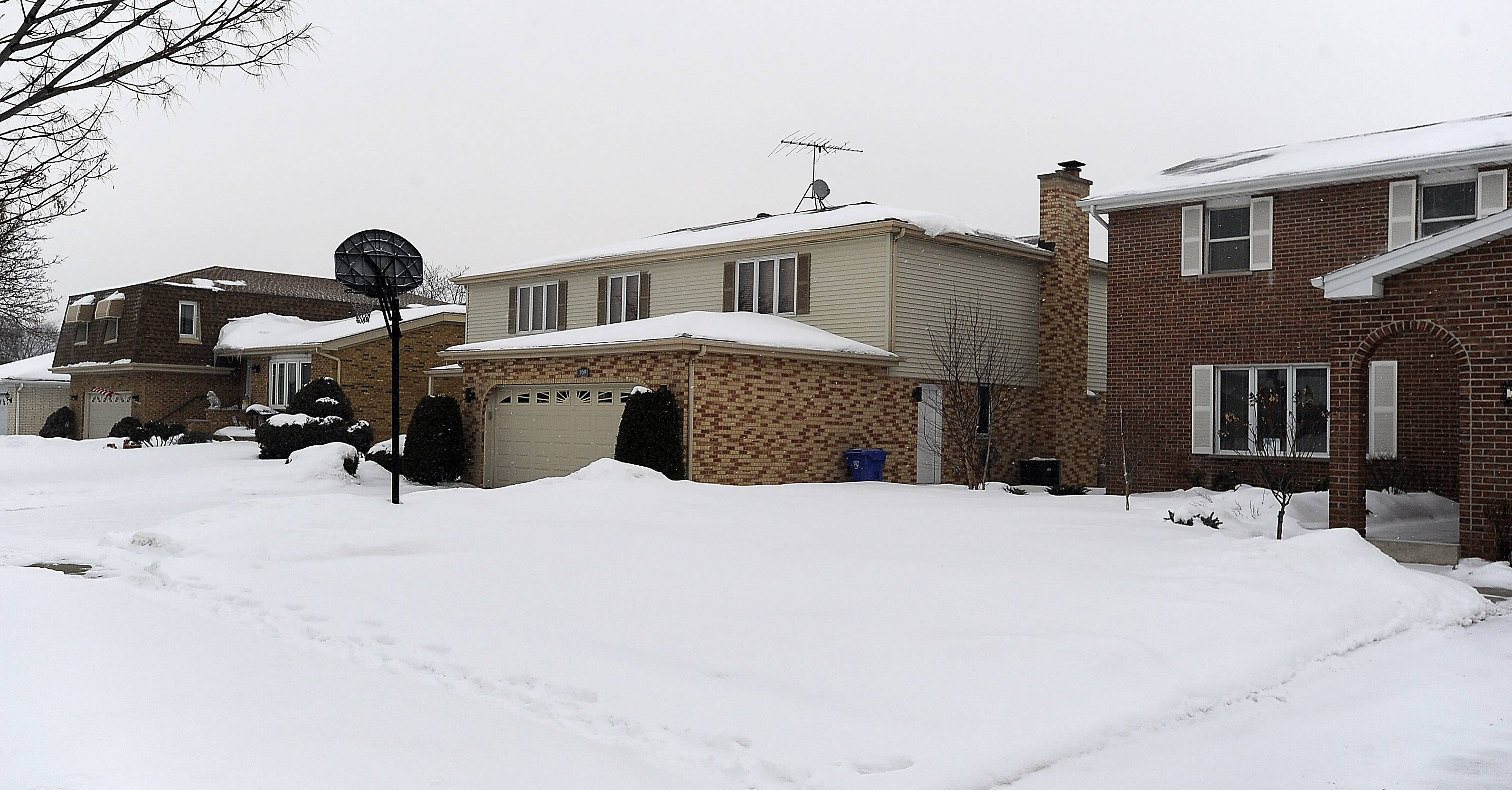 These houses along Noah Terrace are typical of those found in Mount Prospect's St. Cecilia neighborhood.