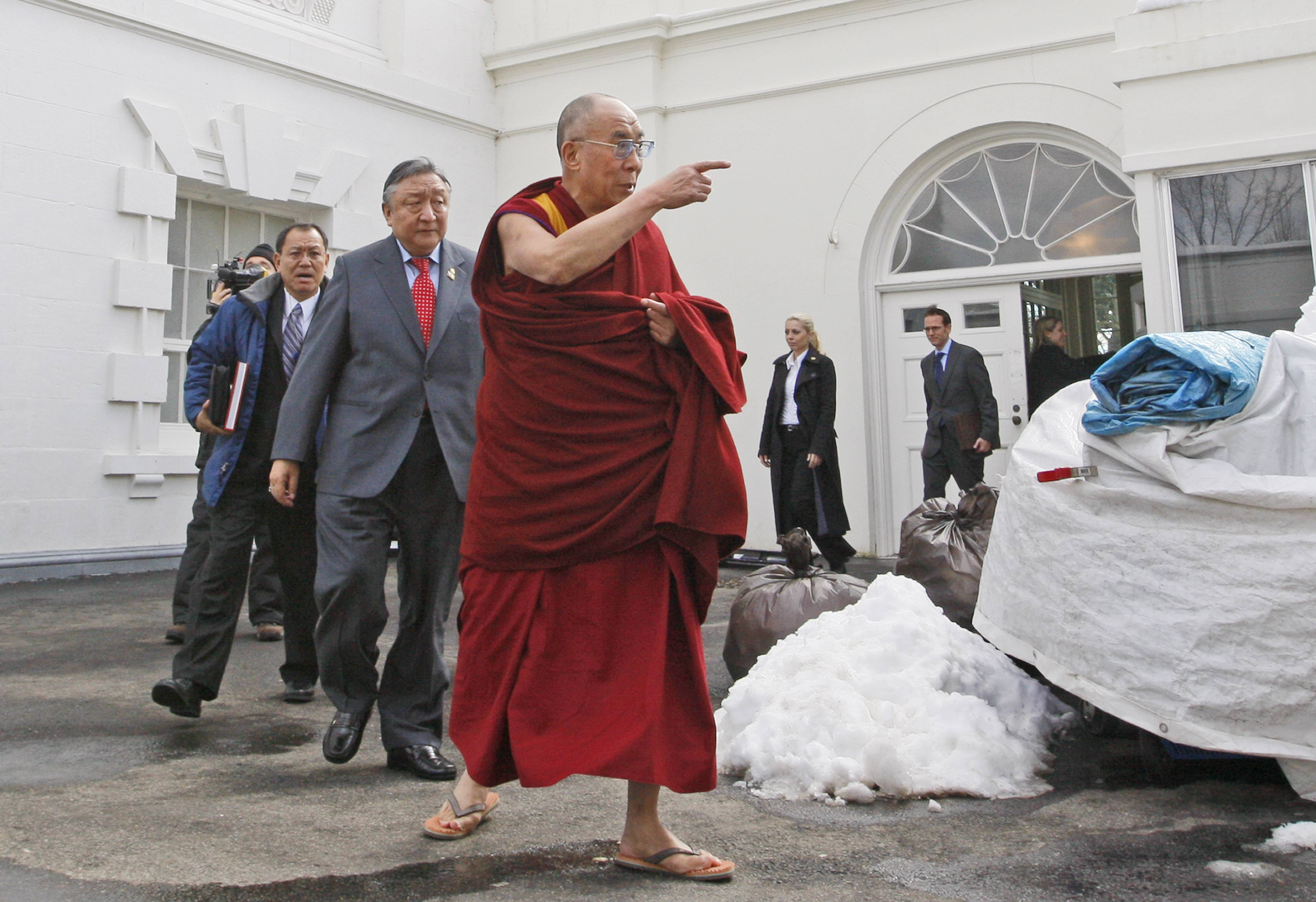 President Barack Obama will host Tibetan spiritual leader the Dalai Lama for a meeting on Feb. 21, 2014, the White House said, in a move that could rankle already tense relations between the U.S. and China.