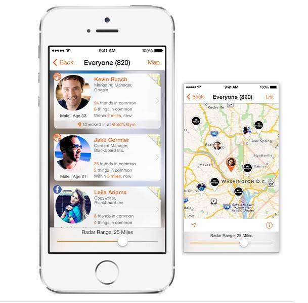 SocialRadar is a new mobile application that could become a cool way to find nearby friends and discover other interesting people living or working in the same neighborhood.