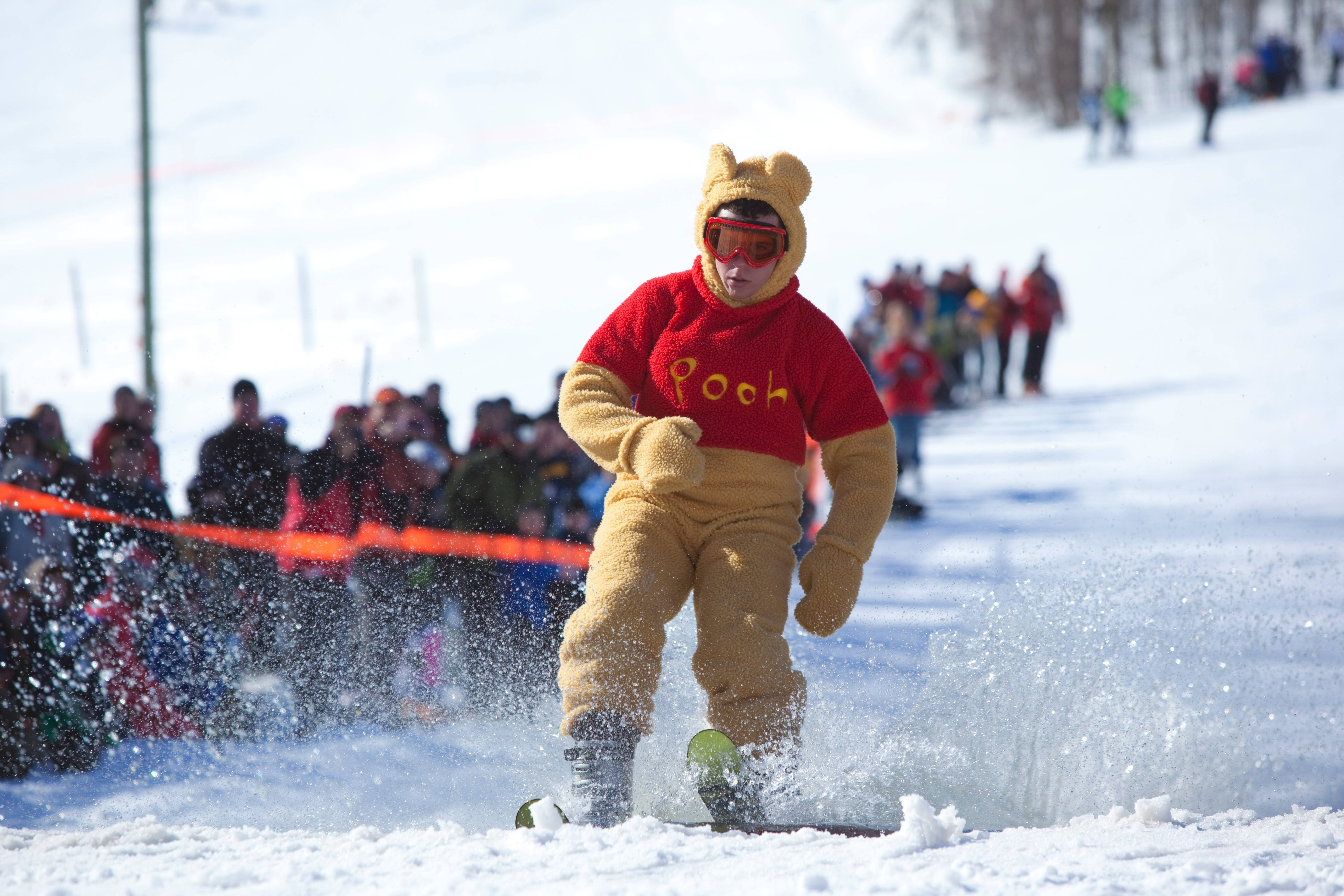 Michigan's Shanty Creek Resort's most popular event, the very silly Monster Energy Slush Cup Weekend, will be held March 1.