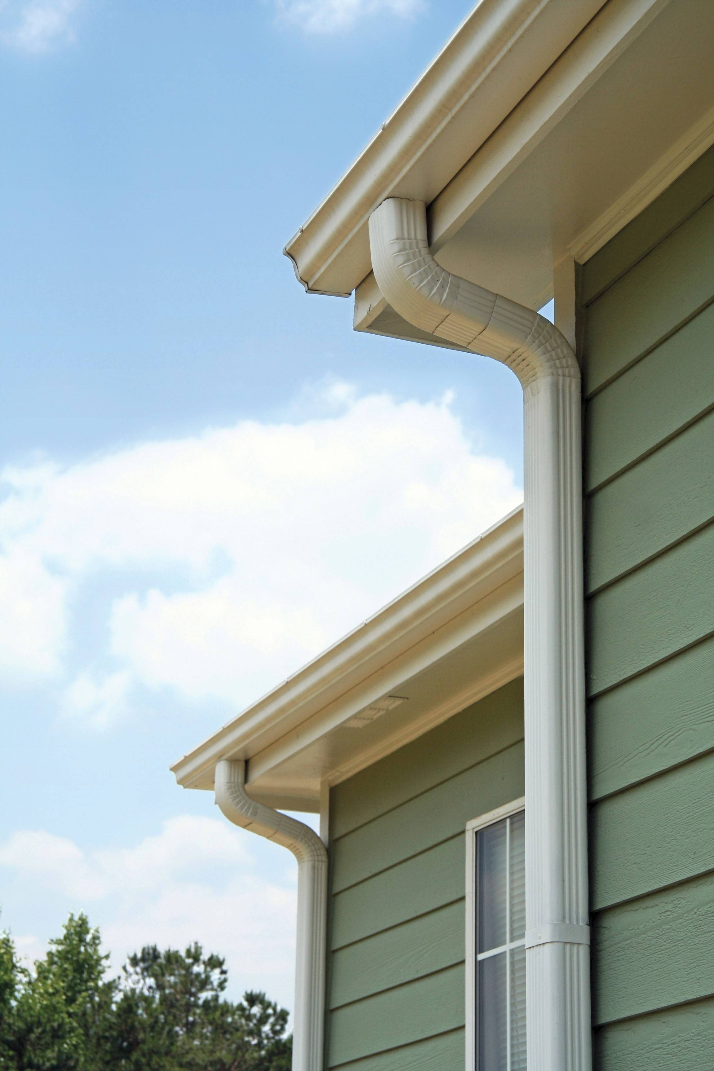 Clogged gutters aren't just an aesthetic problem. If water puddles near the home, it could lead to costly water damage.