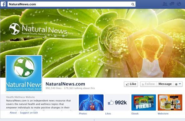 The website Natural News -- which seems like a parody but is unfortunately quite serious -- published these preposterous stories, and many others just as silly, last week alone.