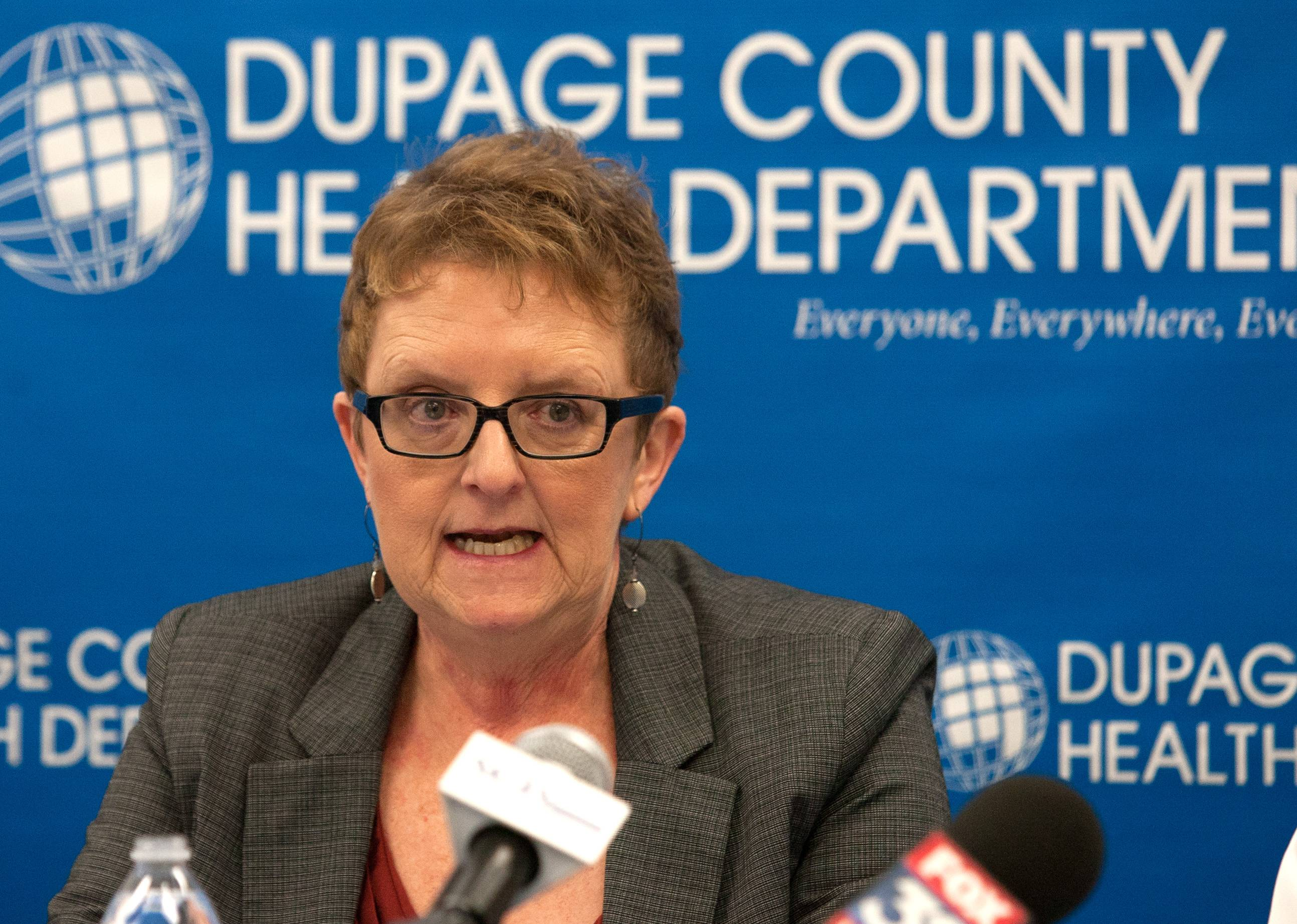 Karen Ayala, executive director of the DuPage County Health Department, talks about the DuPage Narcan Program.