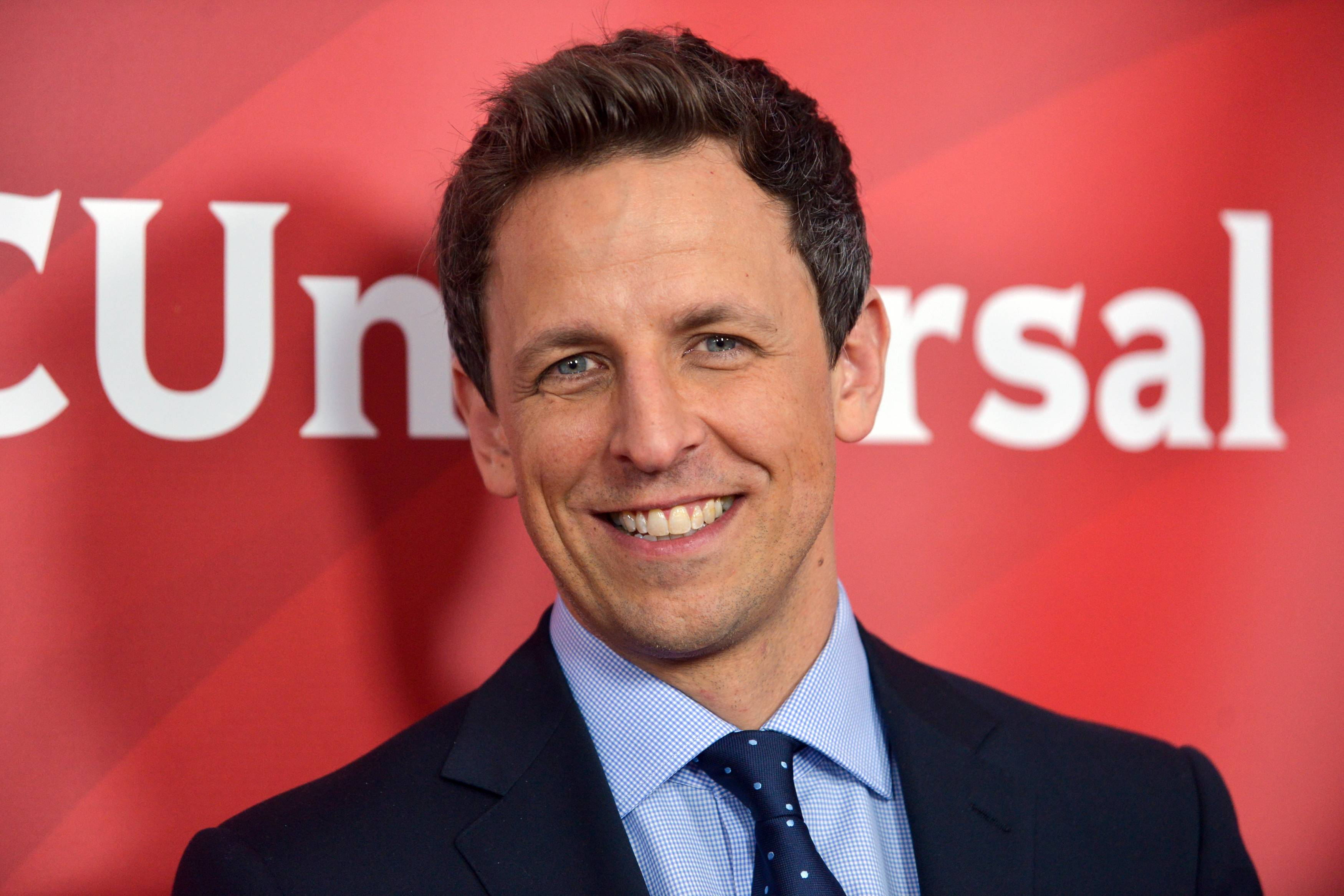"Seth Meyers' new show, ""Late Night With Seth Meyers,"" will premiere on Monday, Feb. 24."