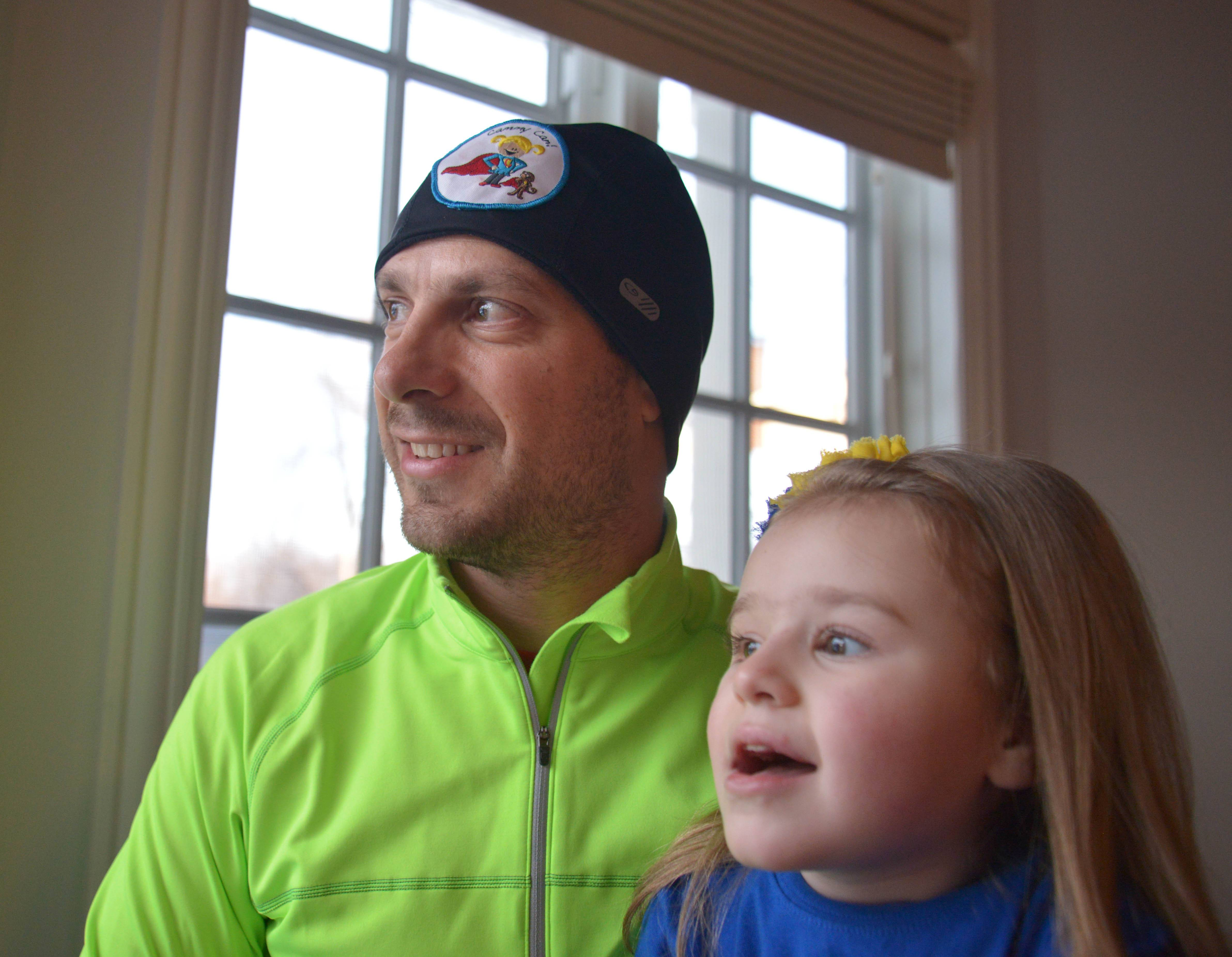 Inspired by his daughter, Cammy, whose neurological disorder prevents her from walking, Bill Babiarz is planning a 150-mile, five-day Run Across Illinois to raise awareness and funds to fight Rett syndrome.
