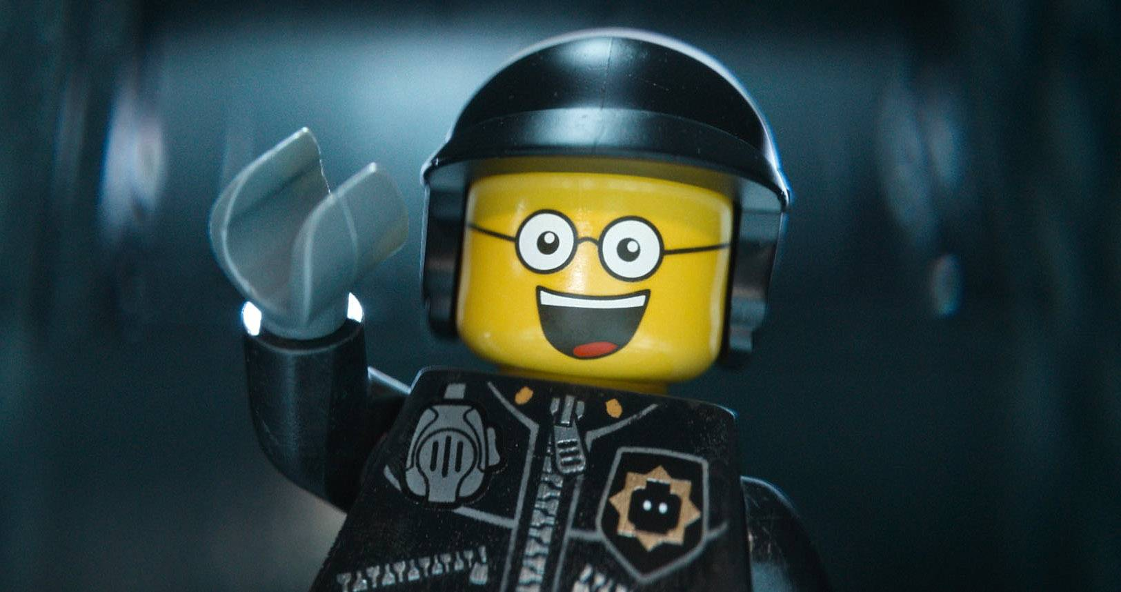 "The character Bad Cop/Good Cop, voiced by Liam Neeson, in a scene from the Warner Bros. Pictures film ""The Lego Movie,"" which has made more than $183 million since it was released three weeks ago."