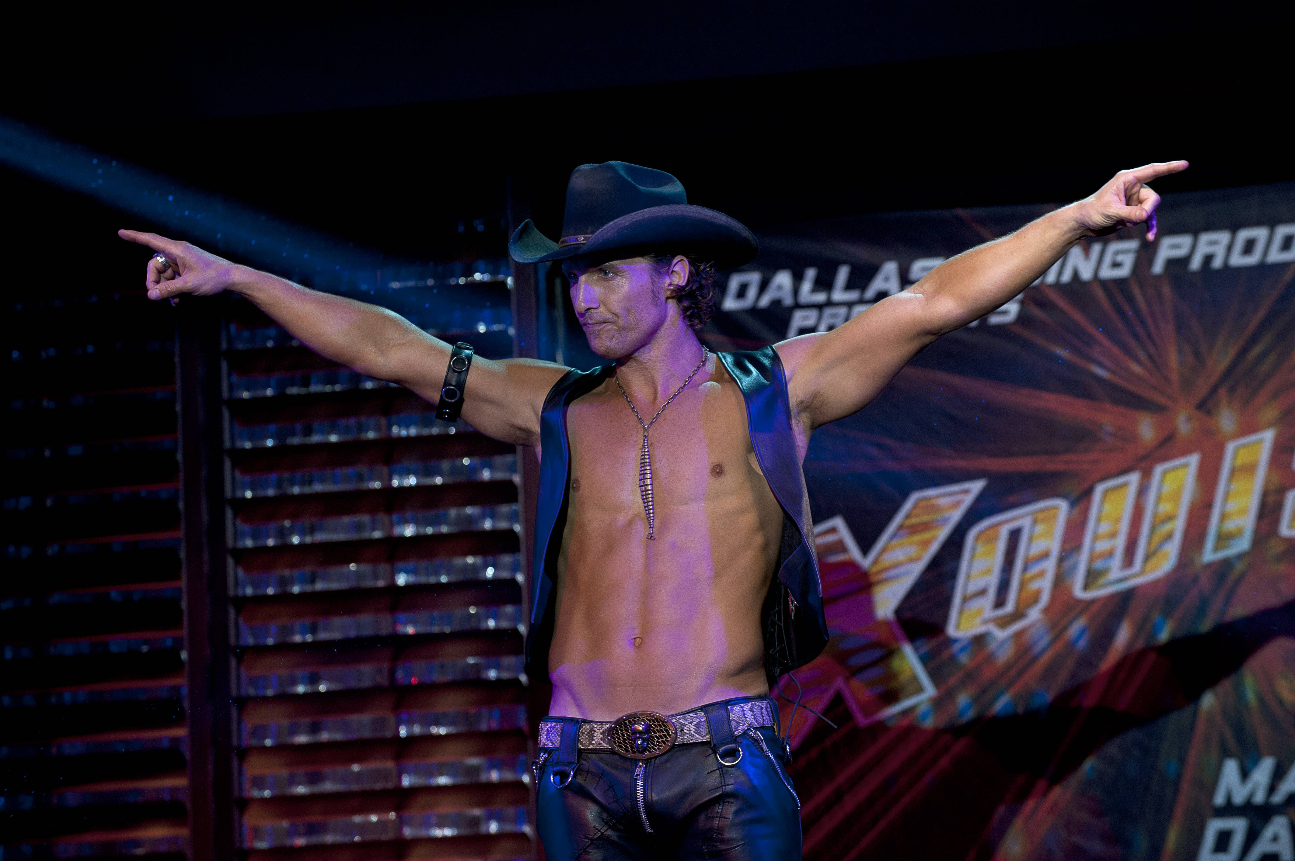 "Matthew McConaughey's role in ""Magic Mike"" was part of his attempt to redirect his carrer after his career had bottomed out in rom-com mediocrity. The rebirth that followed -- the so-called McConaissance -- reaches an apogee with his Oscar nomination for his performance in ""Dallas Buyers Club."""