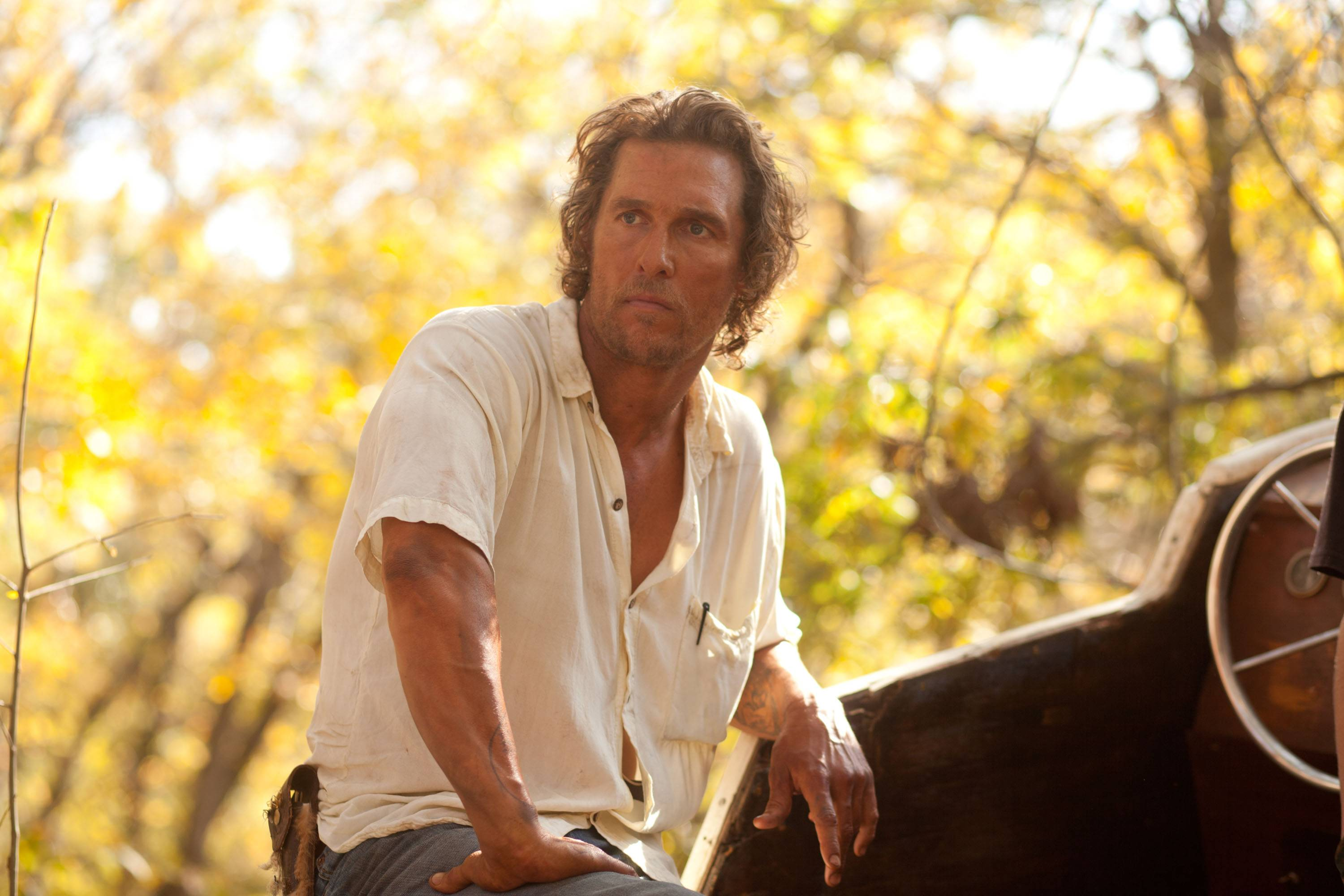 "Matthew McConaughey's role in ""Mud"" was part of the actor's attempt to turn around his flagging career."