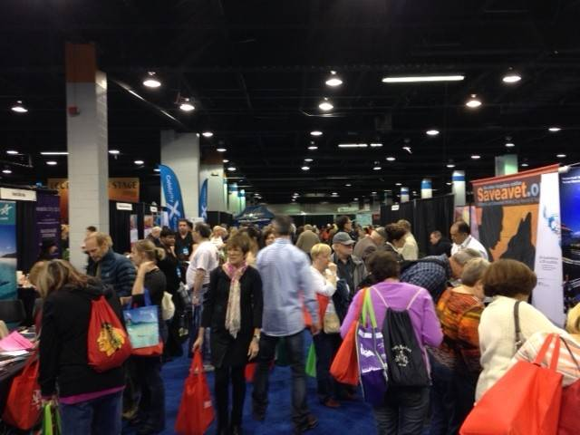 Crowds packed the Travel & Adventure Show in Rosemont last month to check out what's hot in travel this spring.