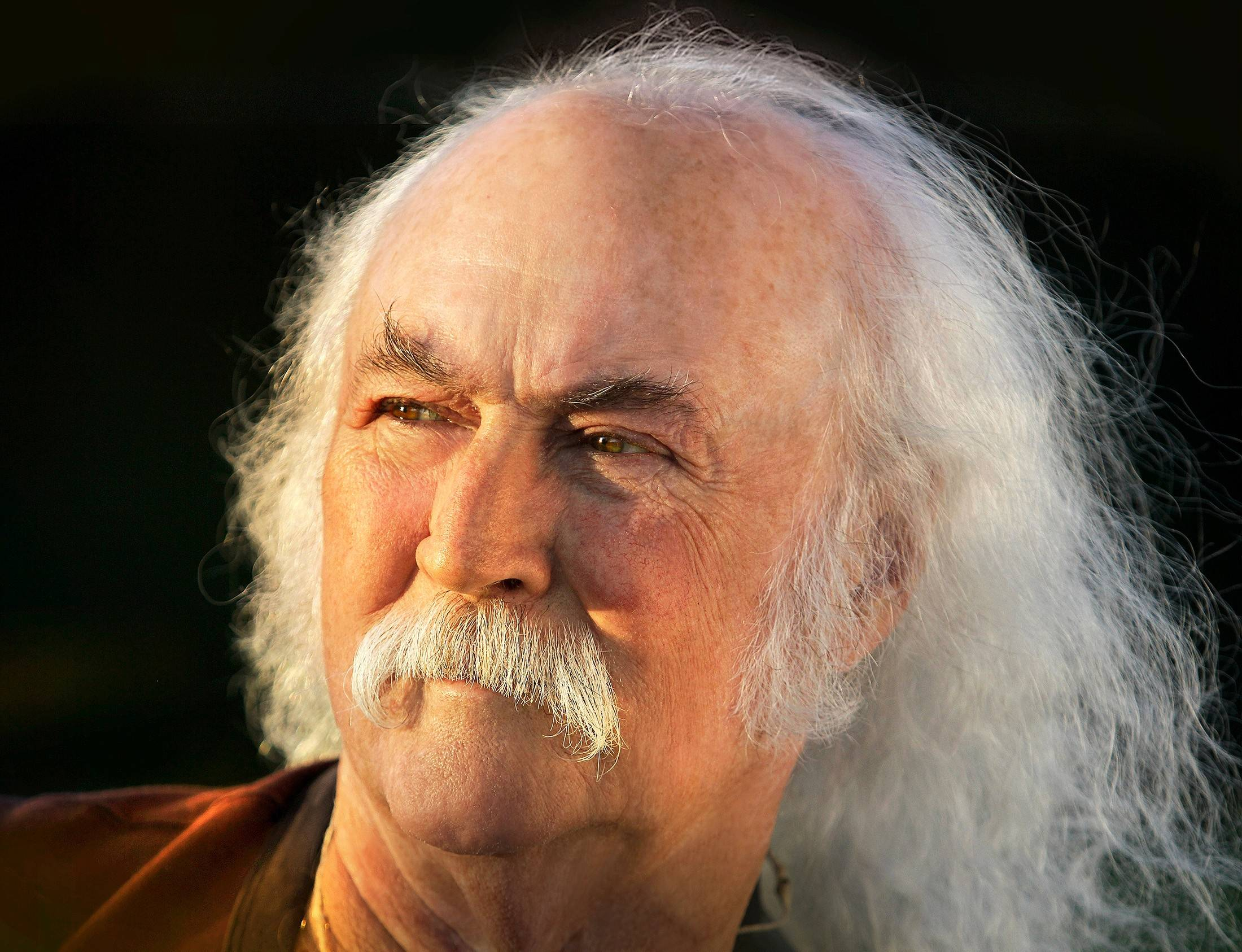 David Crosby is enjoying acclaim for his new solo album but had to postpone tour dates after heart surgery earlier this month.