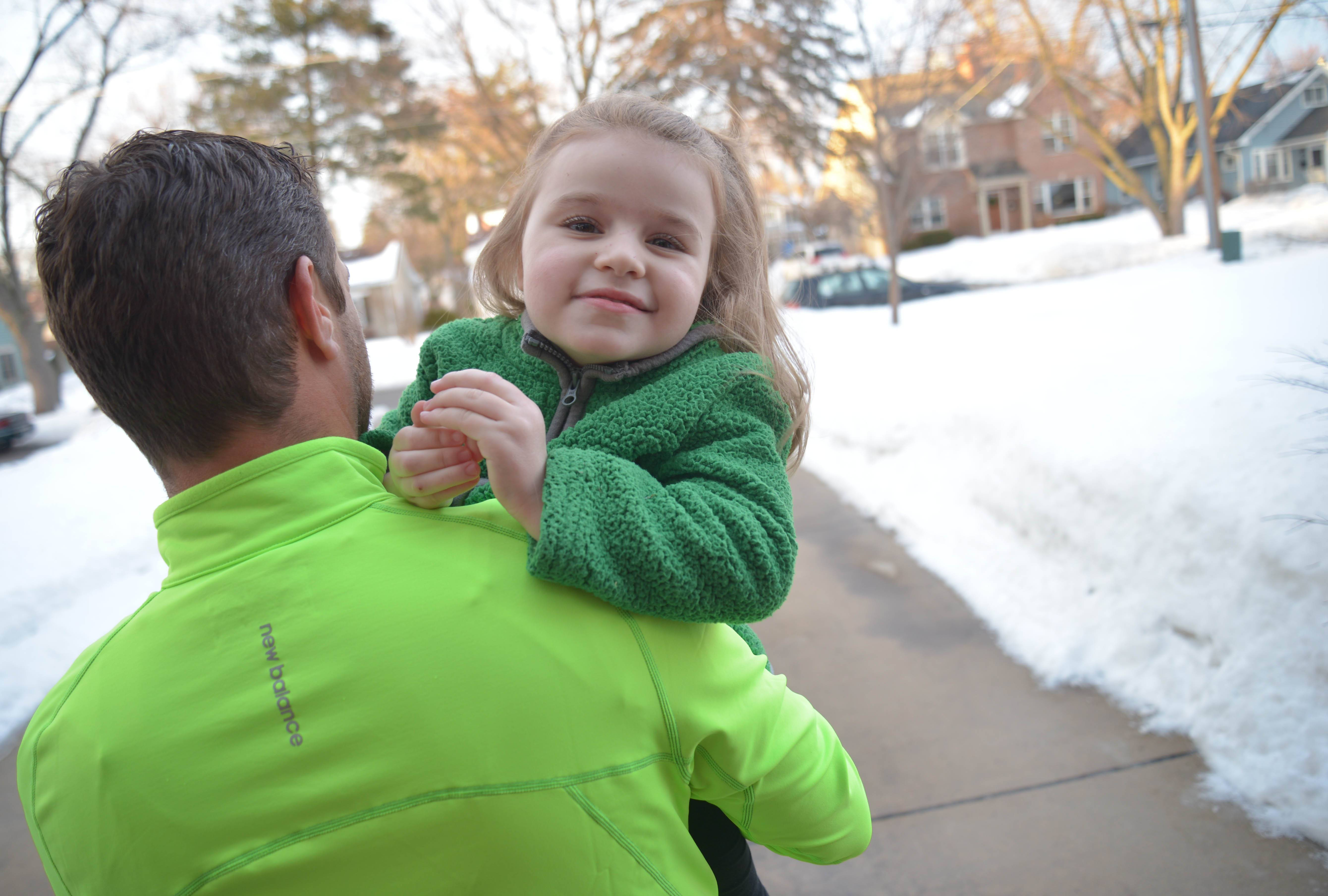 An adorable little girl with an infectious smile and laugh, Cammy Babiarz needs to be carried by her father, Bill. The girl, who turns 5 next month, can't walk, talk or control her hands because of a genetic, neurological disorder known as Rett syndrome.