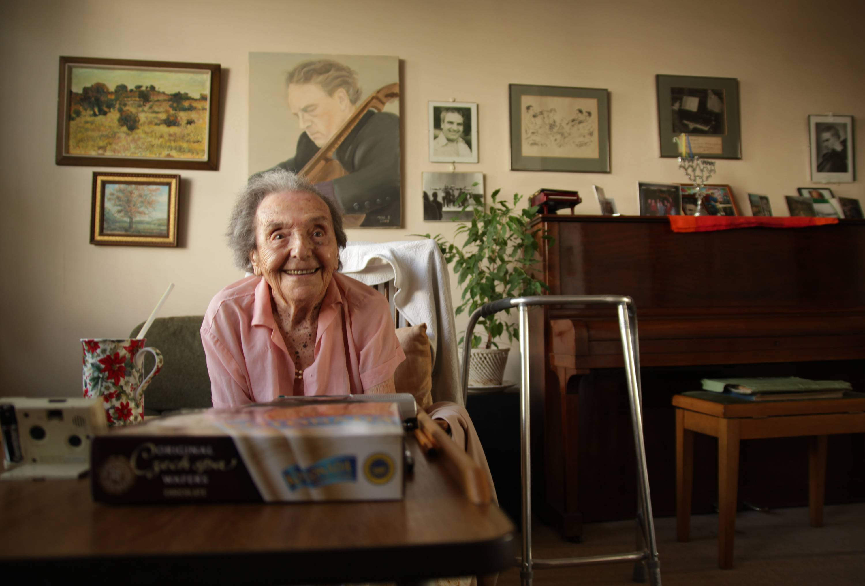 "The Oscar-nominated documentary, ""The Lady in Number 6,"" tell the story of Alice Herz-Sommer, who was believed to be the oldest-known survivor of the Holocaust."