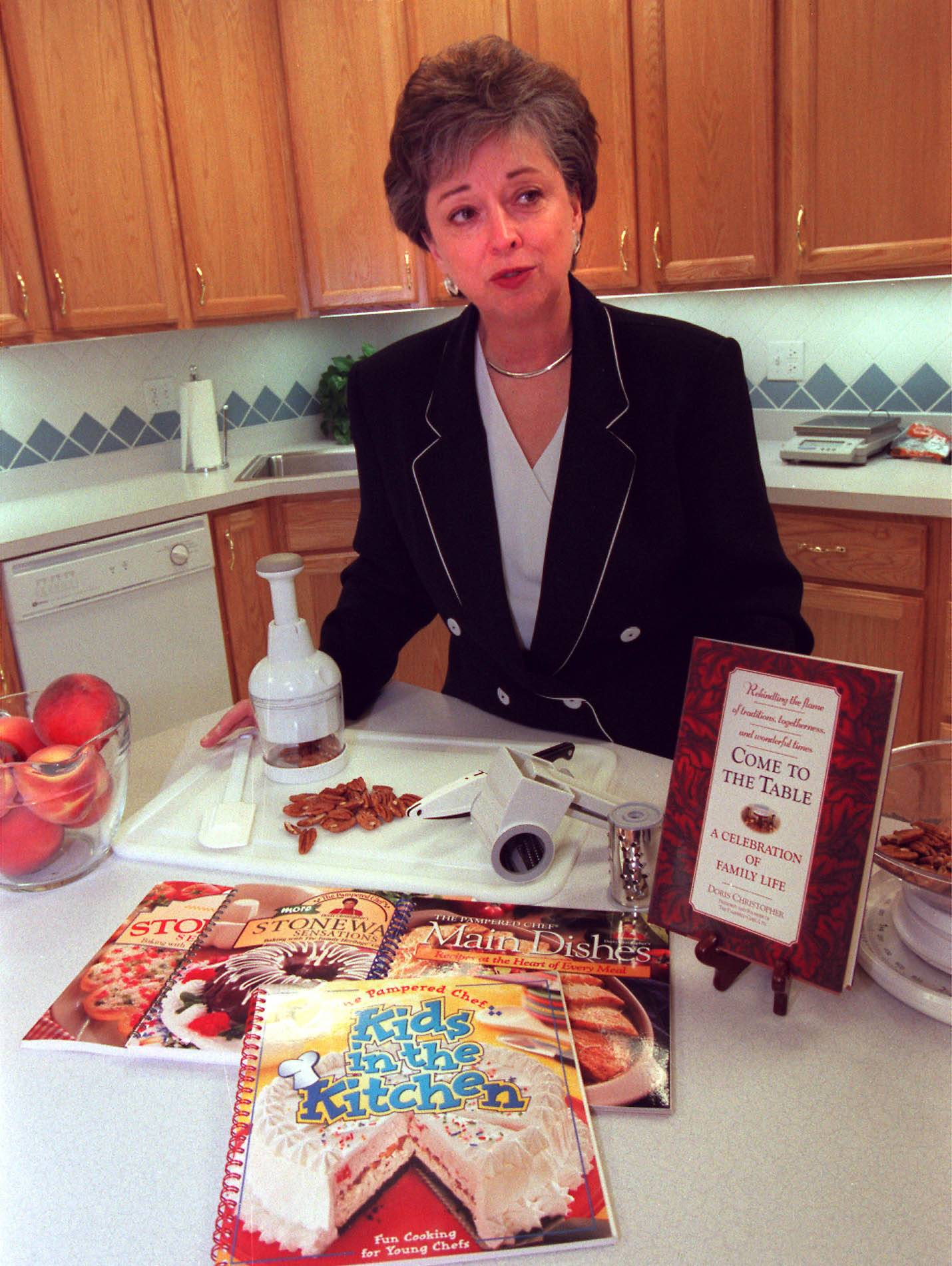 Doris Christopher, CEO and founder of the Pampered Chef