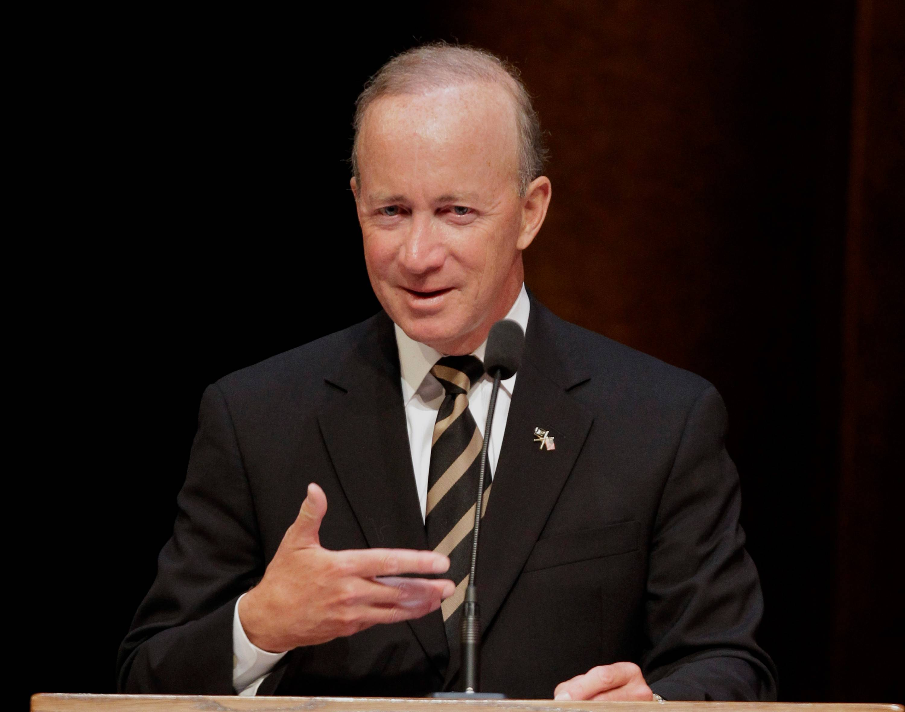 Most of the Republican candidates for Illinois governor have cited former Indiana Gov. Mitch Daniels as a role model.
