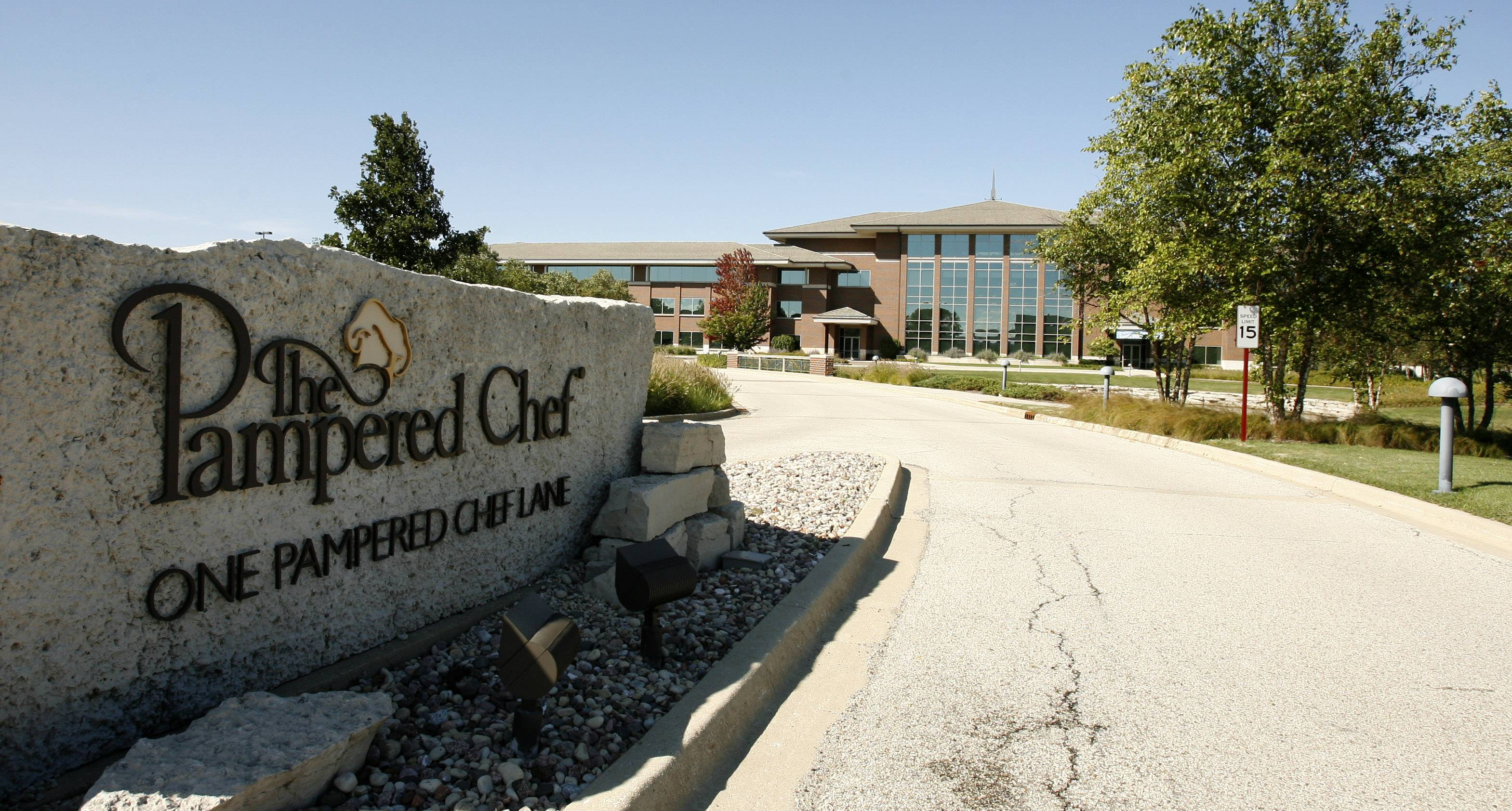 The Pampered Chef headquarters in Addison.