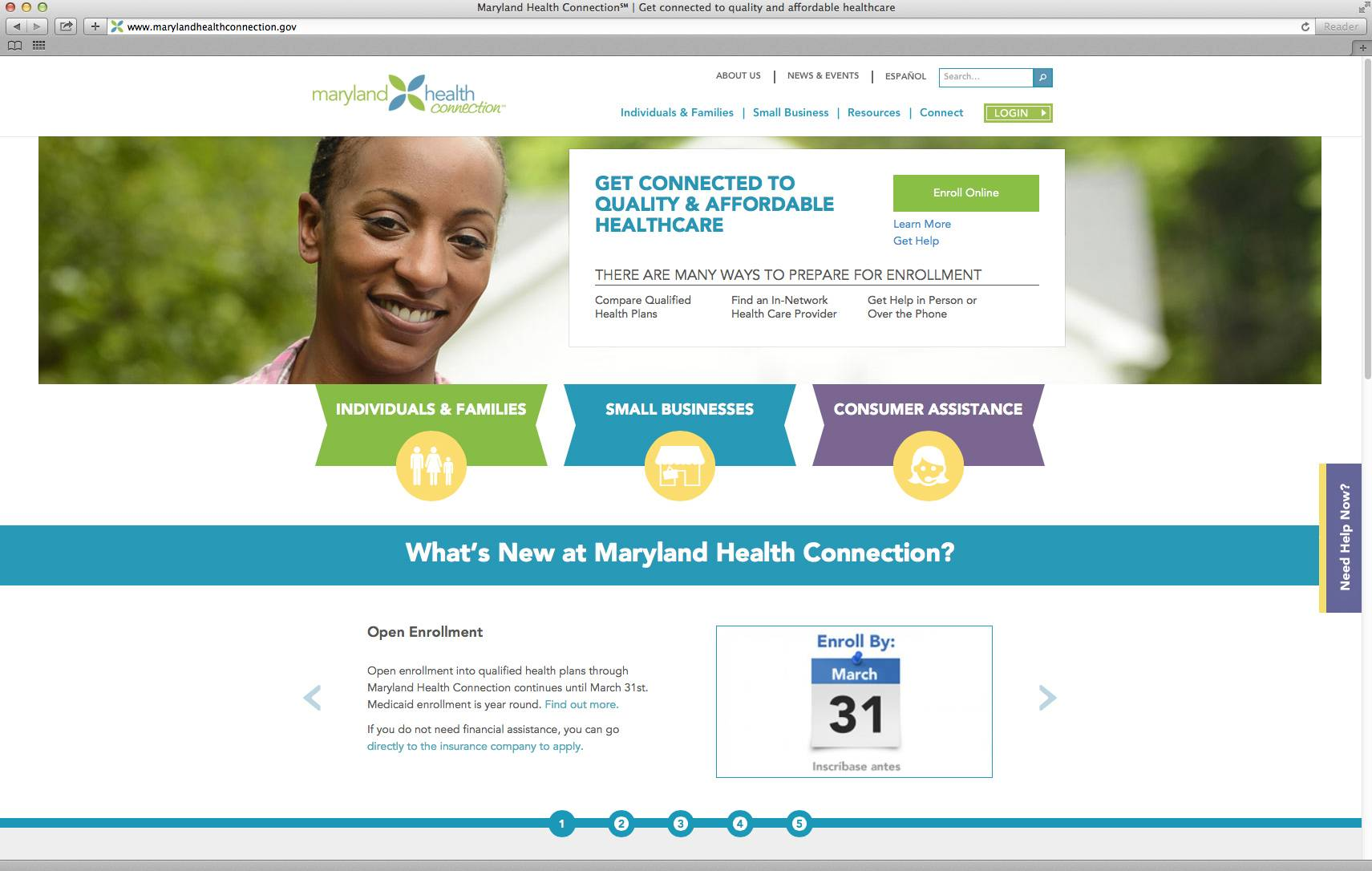 The website for Maryland's online health care exchange. House Republicans intent on highlighting the woes of Pres