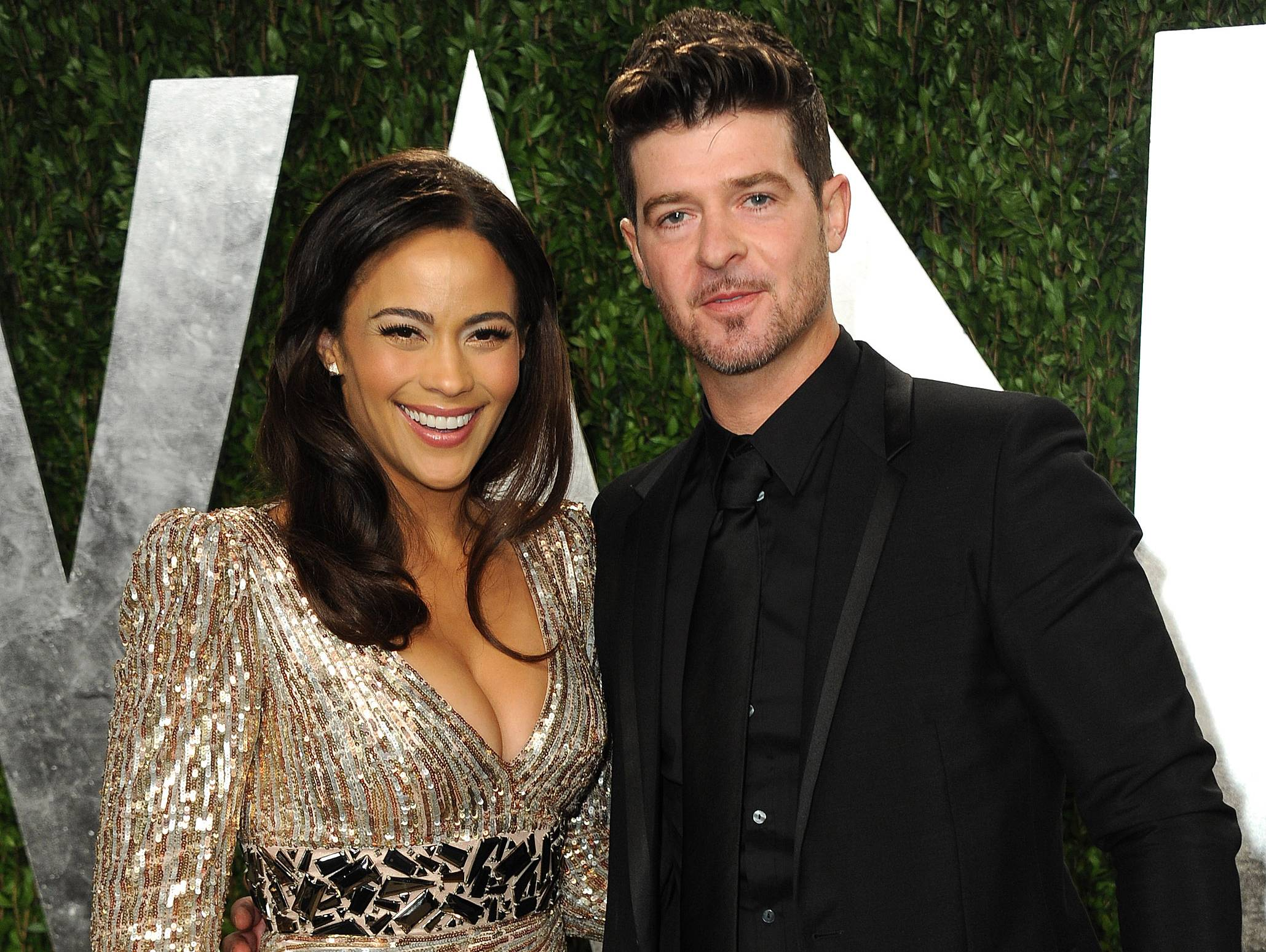 Paula Patton and Robin Thicke are calling it quits.