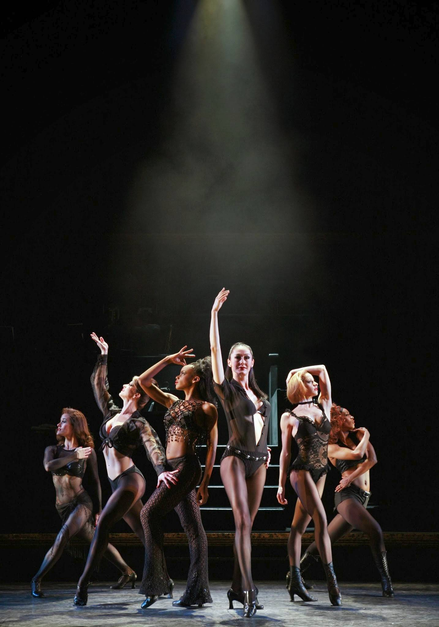 "Women prisoners in the Cook County Jail await the arrival of lawyer Billy Flynn in the national tour of ""Chicago."" The hit Kander and Ebb musical returns to the Windy City at the Bank of America Theatre from Tuesday, Feb. 25, through Sunday, March 2."