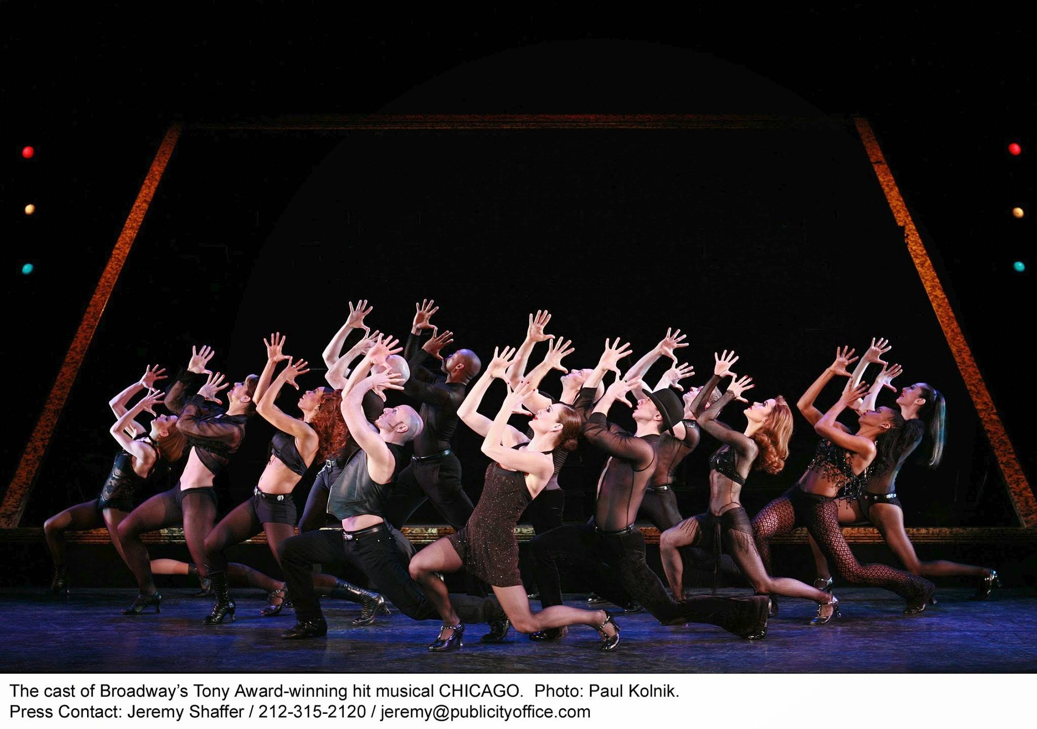 """Chicago"" -- the longest-running American show in Broadway history -- returns to the Windy City at the Bank of America Theatre from Tuesday, Feb. 25, through Sunday, March 2."